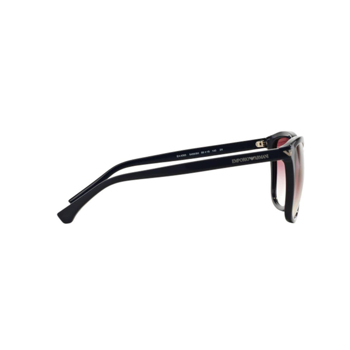 8ed8bc7d230d Shop Emporio Armani Women s EA4060 Blue Plastic Square Sunglasses - Free  Shipping Today - Overstock.com - 10857354
