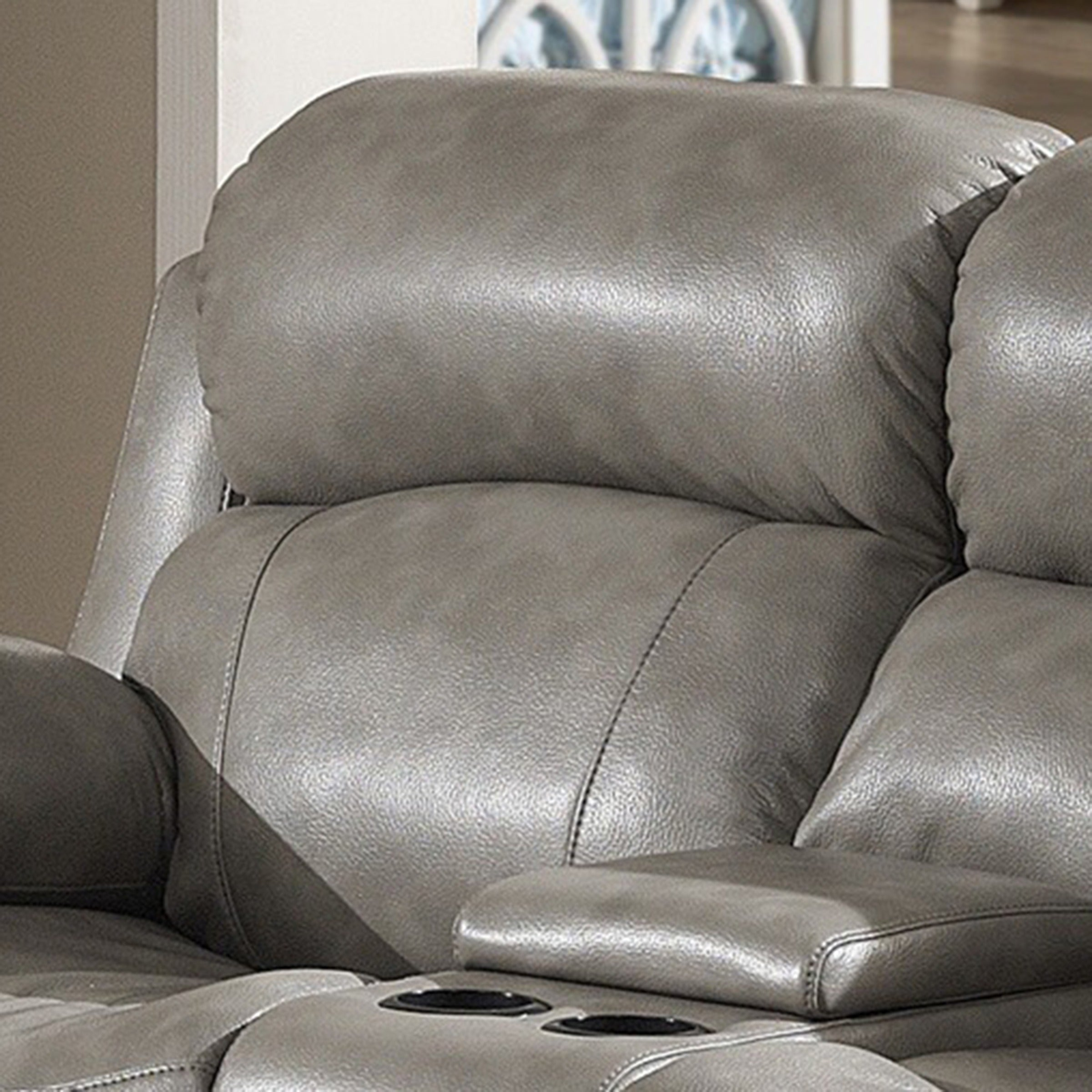 and sofa leather of chair corner loveseat dual with electric sofas size reclining console full recliner set