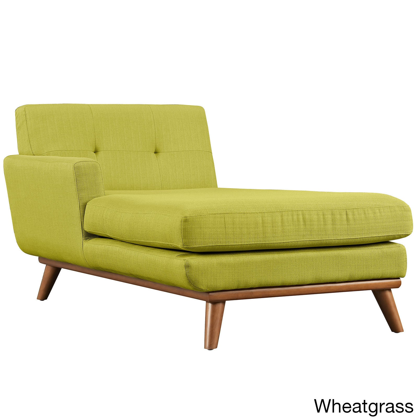 Shop carson carrington sigtuna left arm mid century chaise lounge free shipping today overstock com 10858347