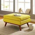 Engage Mid-Century Fabric Ottoman