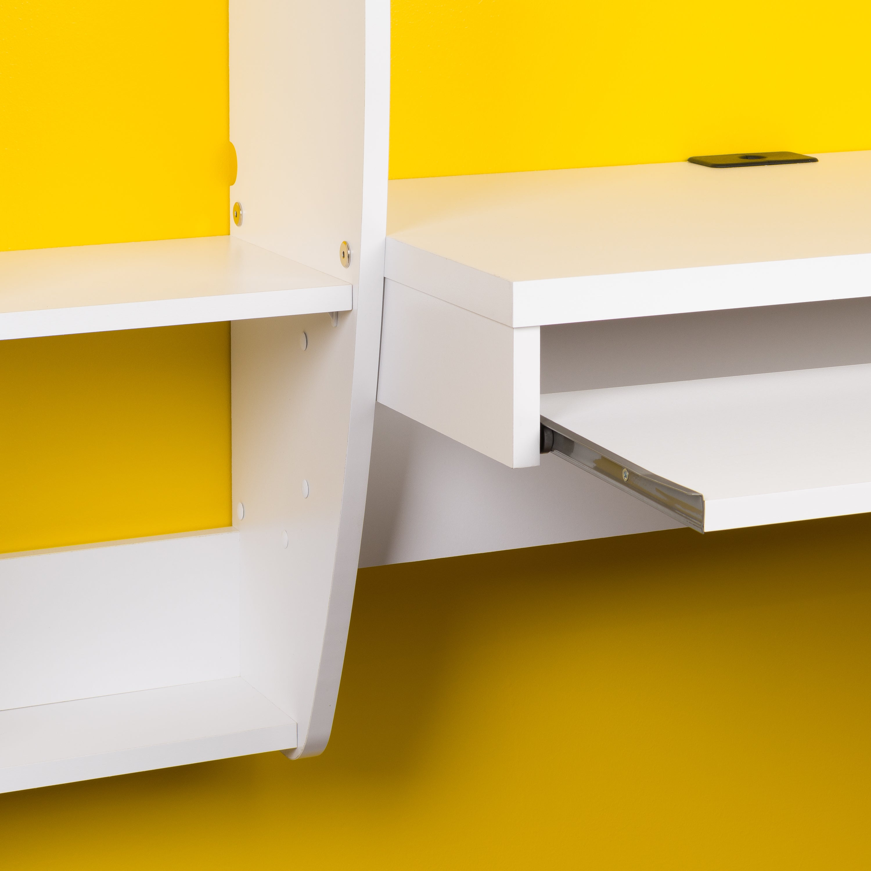 fit that under floating door room for white in shelves office desks desk hutches sliding open bookshelf fiberglass storage and made mounted wwhite varnished of computer finished captivating wooden wall with small