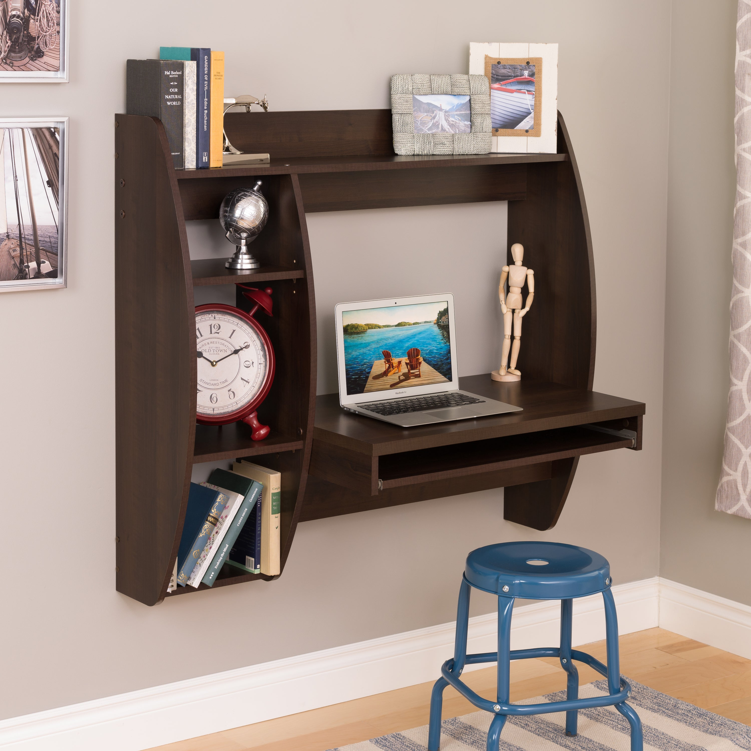 with floating bedroom puter table elegant fice of small desk storage