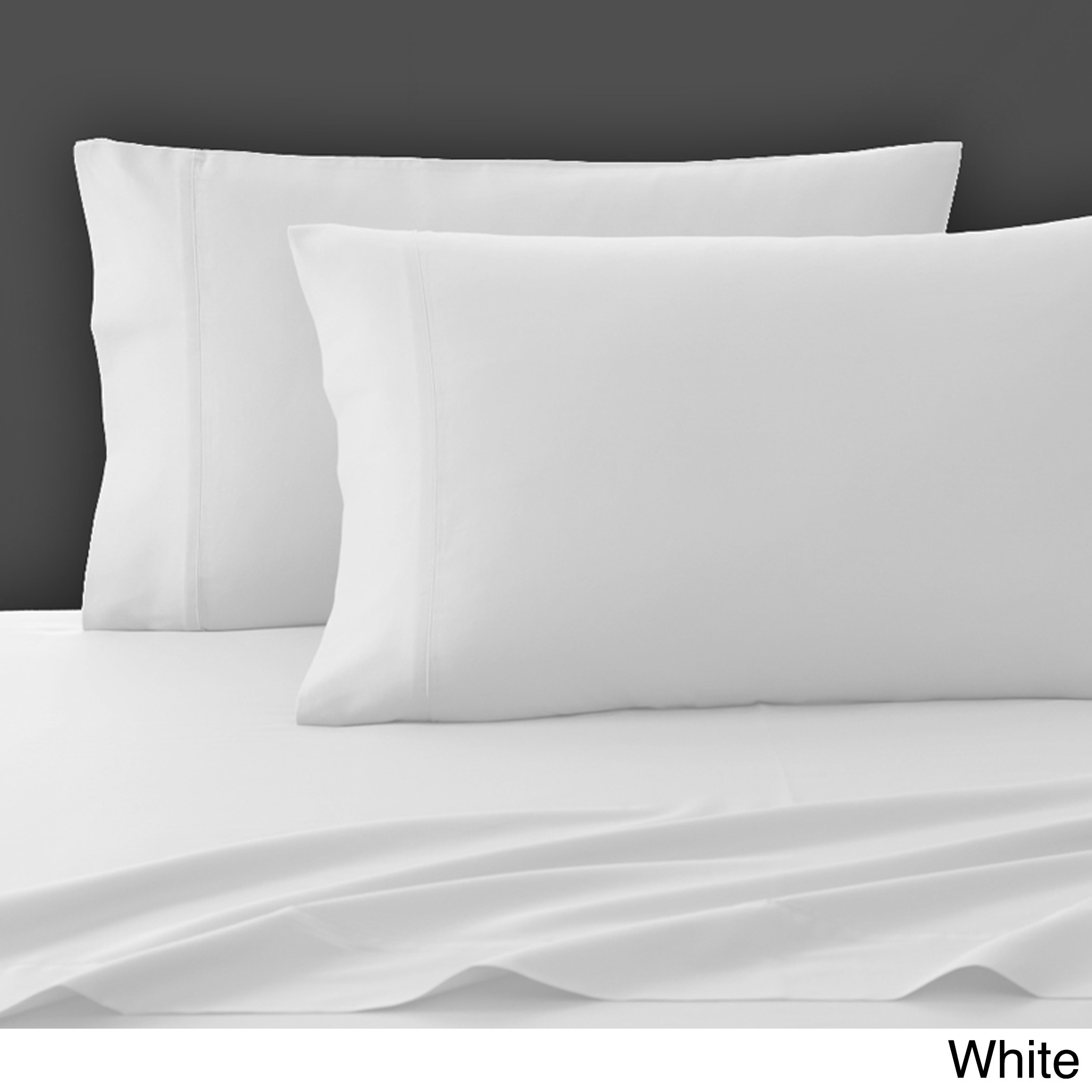 Shop Solid Color Pima Cotton Sheet Set   On Sale   Free Shipping Today    Overstock.com   10866159