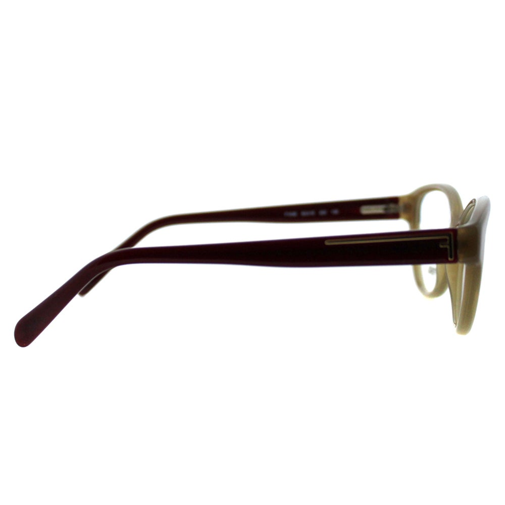 6957e8452ce Shop Fendi Women s FE 1035 223 Sand Plastic Cateye Eyeglasses - Free  Shipping Today - Overstock - 10867734