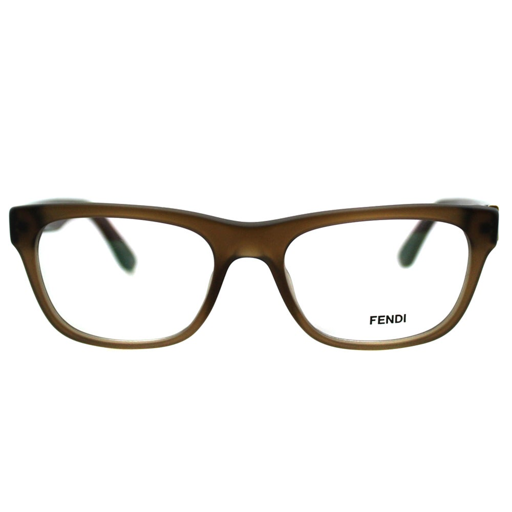 abd5891275a7 Shop Fendi Women s FE 1028 210 Matt Brown Plastic Rectangle Eyeglasses -  Ships To Canada - Overstock.ca - 10867738