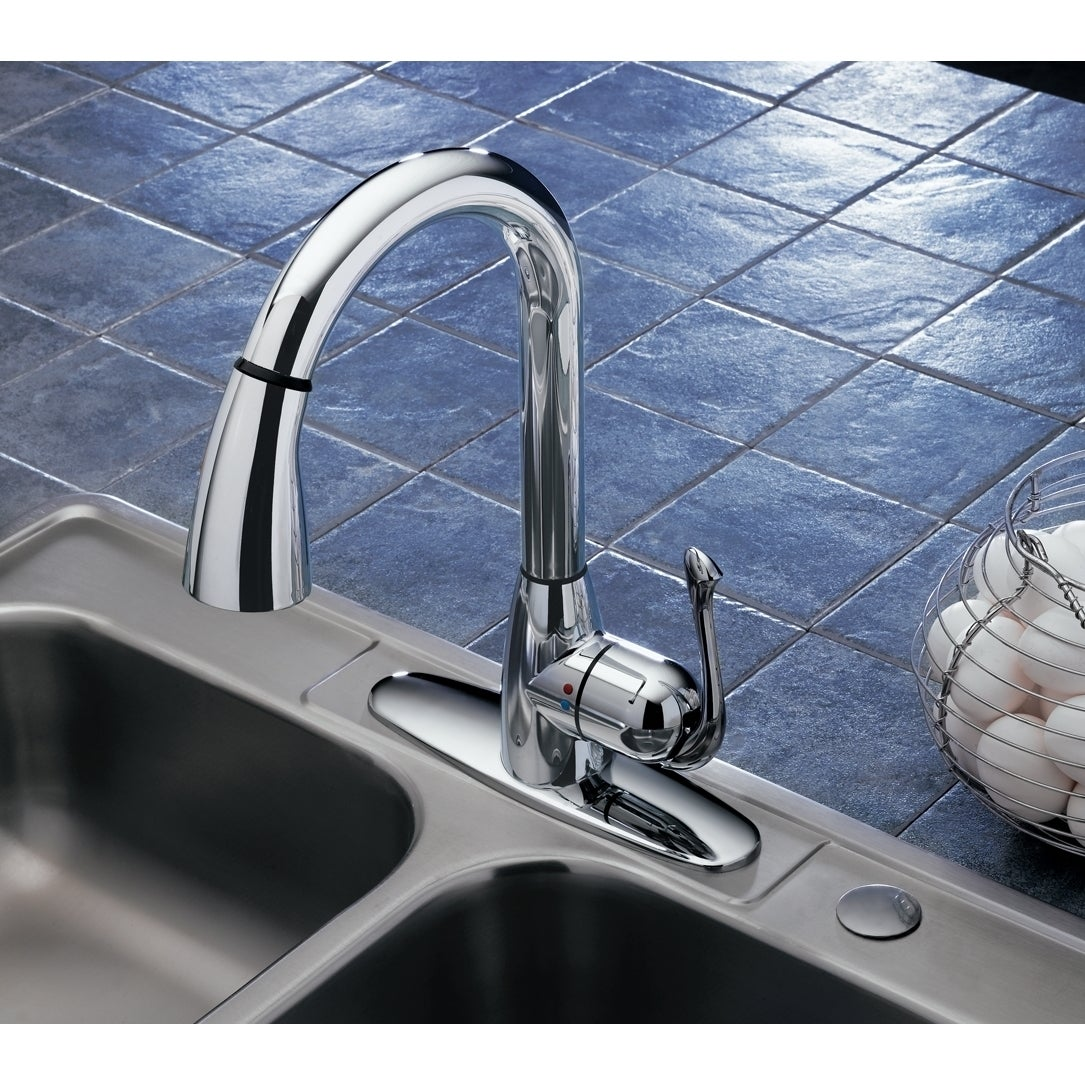 Bell Cleanflo Pull Down Kitchen Faucet - Free Shipping Today ...