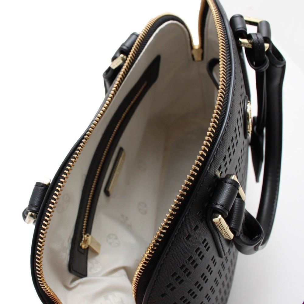 43301325f95 Shop Tory Burch Robinson Perforated Dome Satchel - On Sale - Free Shipping  Today - Overstock - 10873106