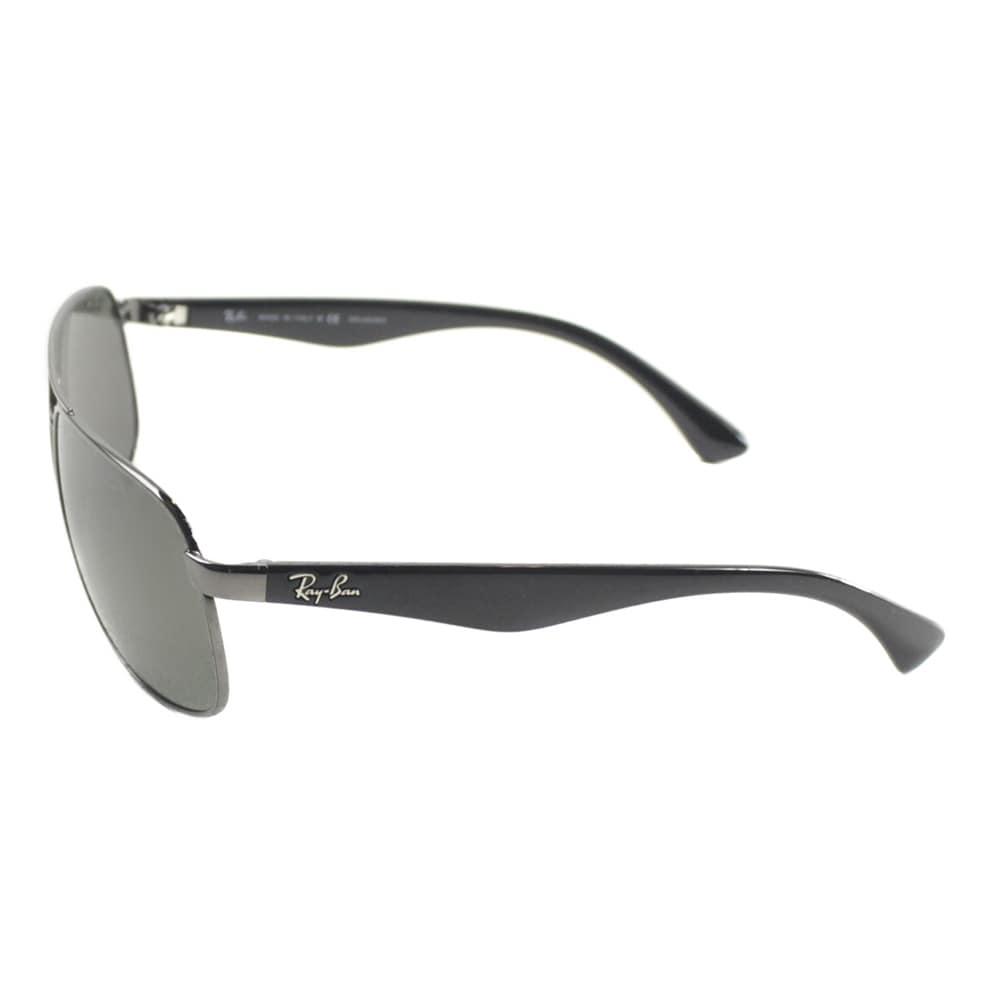 d7014720cbc ... rb3502 029 61 c8d7c 79368  good shop ray ban mens gunmetal metal  aviator polarized sunglasses free shipping today overstock 10878174 28b03