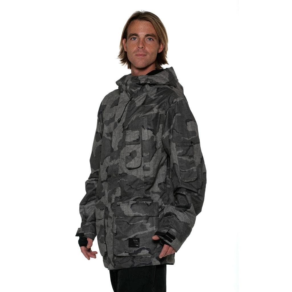 3ae810c35ecec Shop Billabong Men's Camo Scotty Lago Sorient 10k snowboard Jacket - Free  Shipping Today - Overstock - 10883801