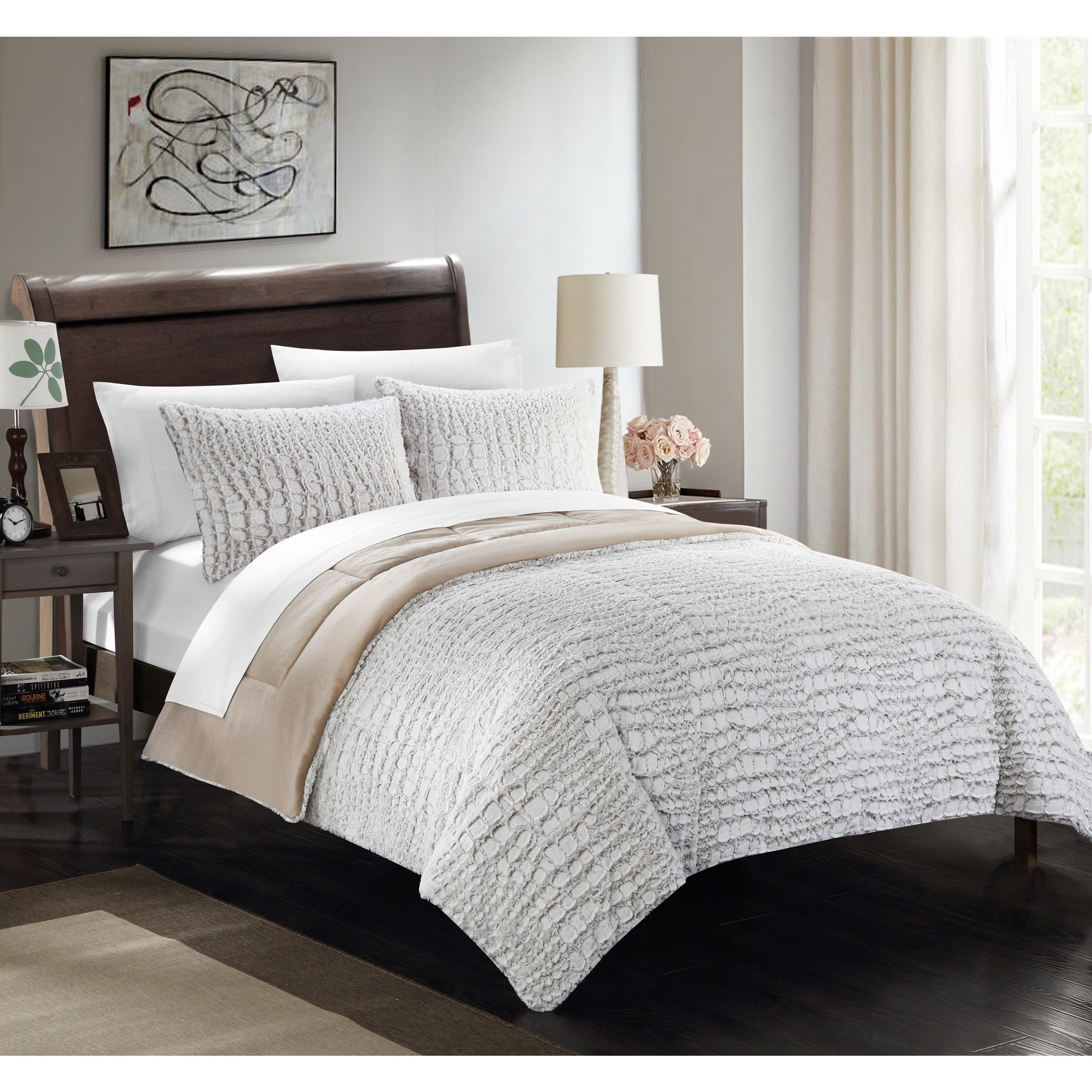 size u comforter throw grey luxury faux pillows king blankets mahogany mink brown throws and fur elegant couture pillow
