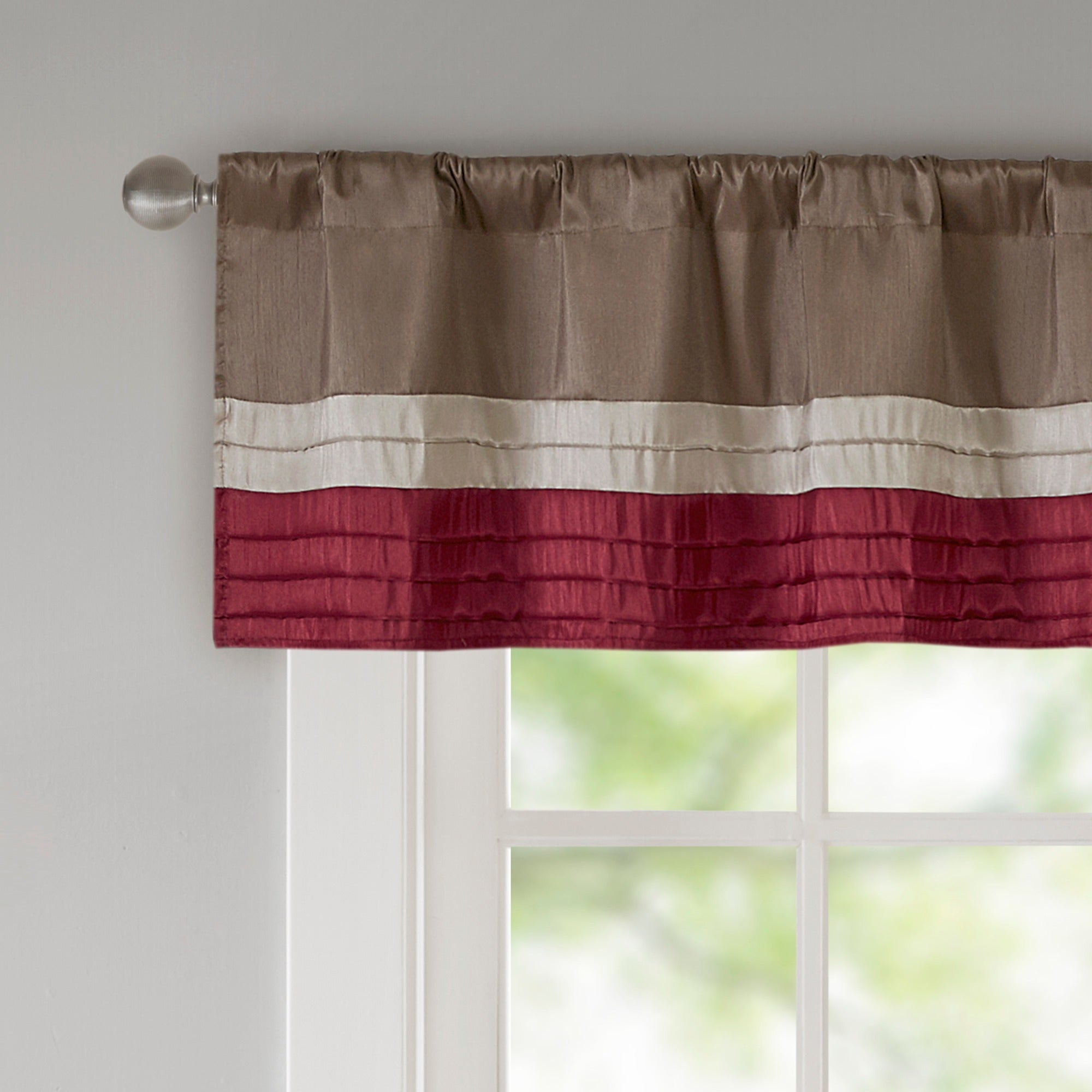 faux juline trim garden orders product on waterfall overstock shipping valances valance park home tassel over madison solid embellished silk lined free