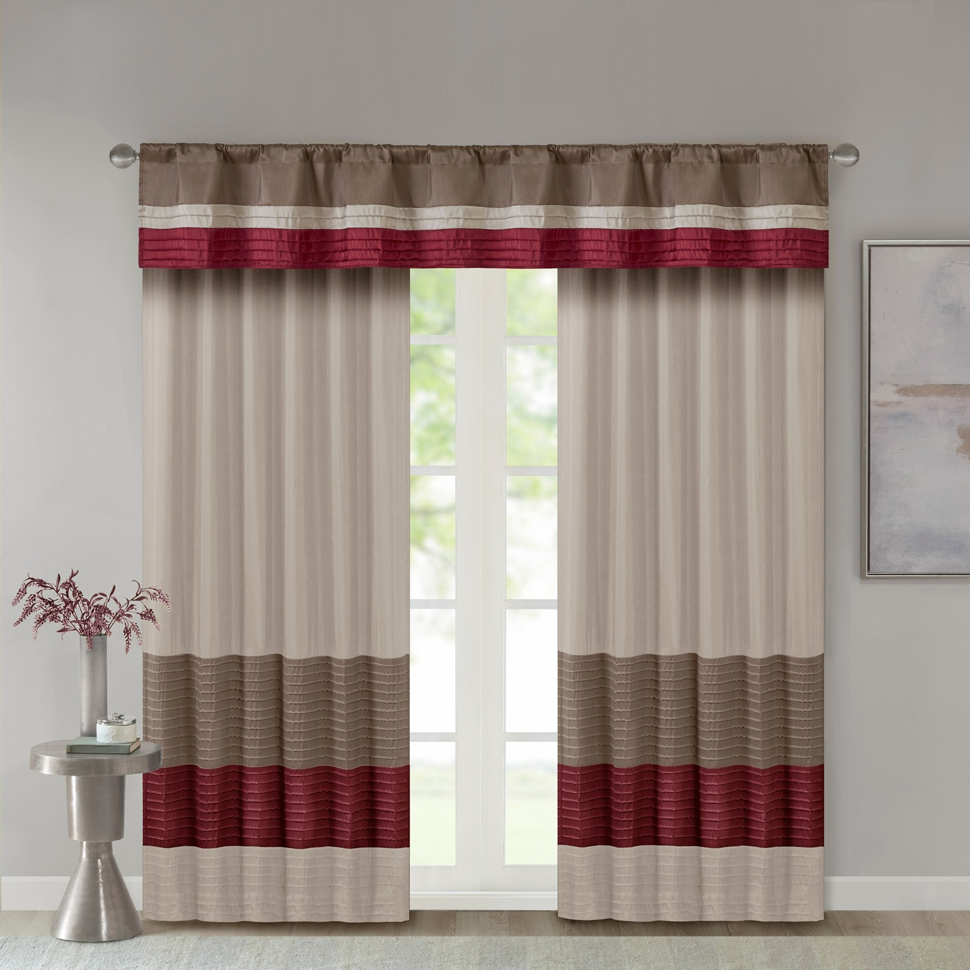 valance quilted lined silk valances allure window treatment p v x tailored