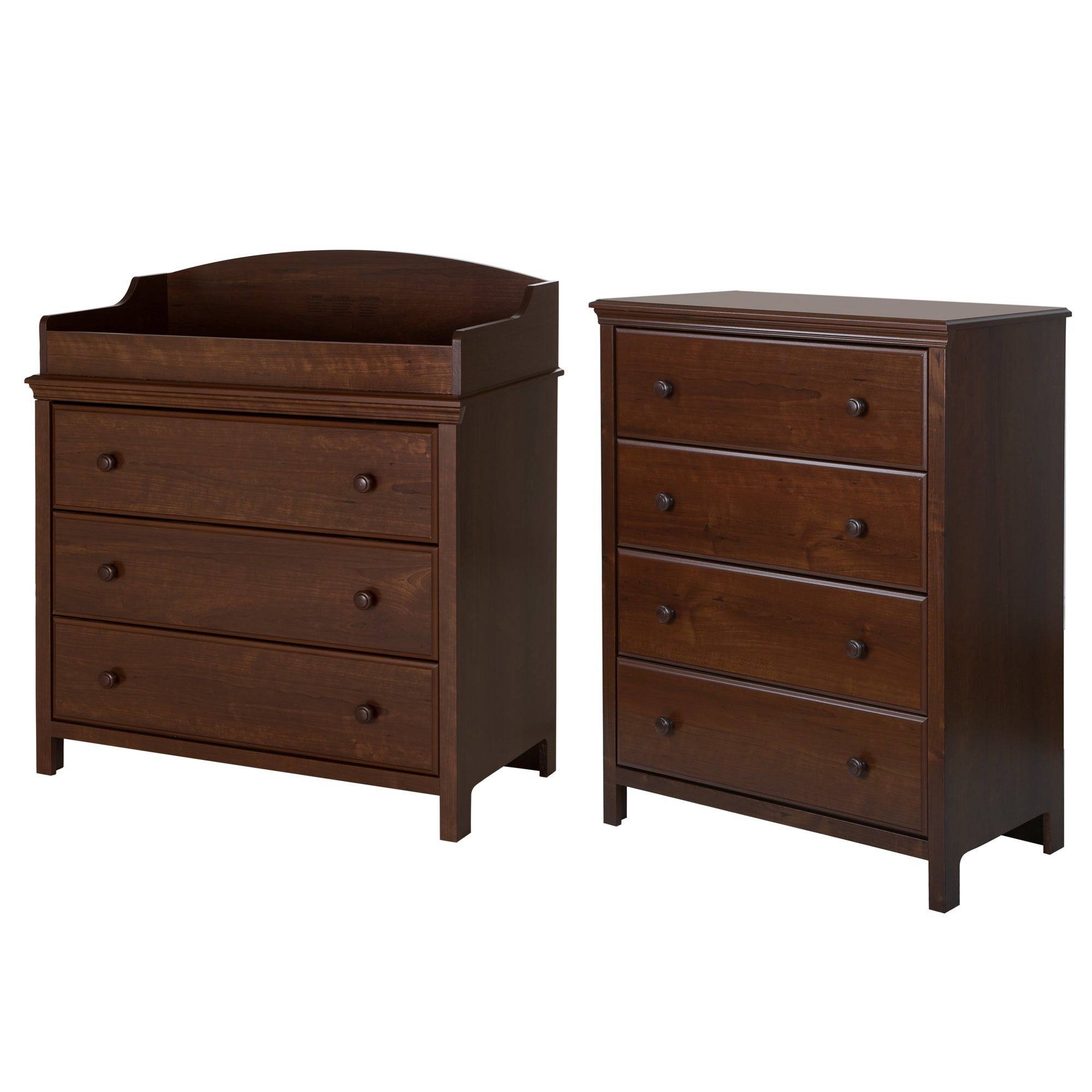 Shop South Shore Cotton Candy Changing Table With 4 Drawer Chest   Free  Shipping Today   Overstock.com   10897473