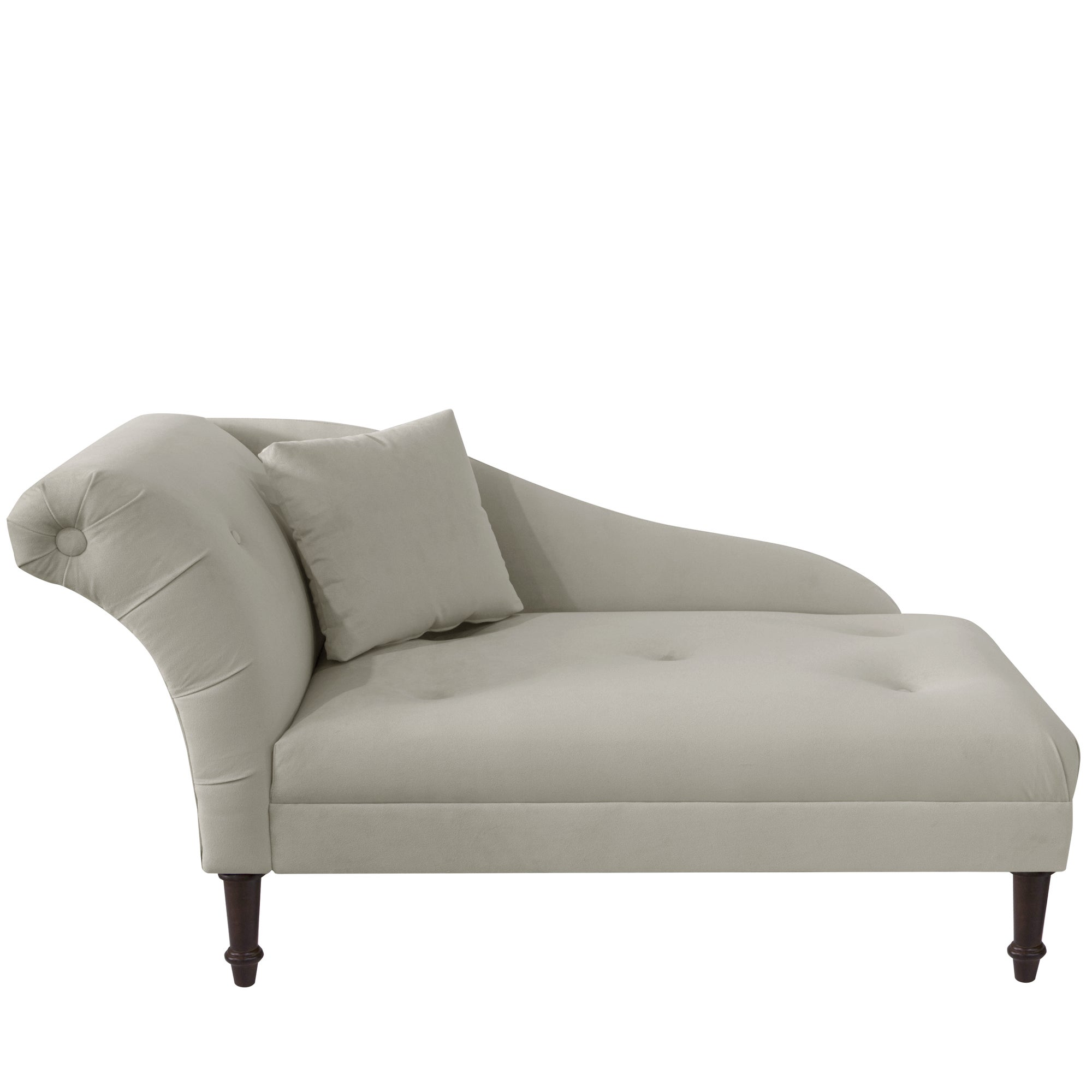 decor trim chaise home nailhead your tufted furniture pretty gold belleze with throughout chair for skyline lounge couch