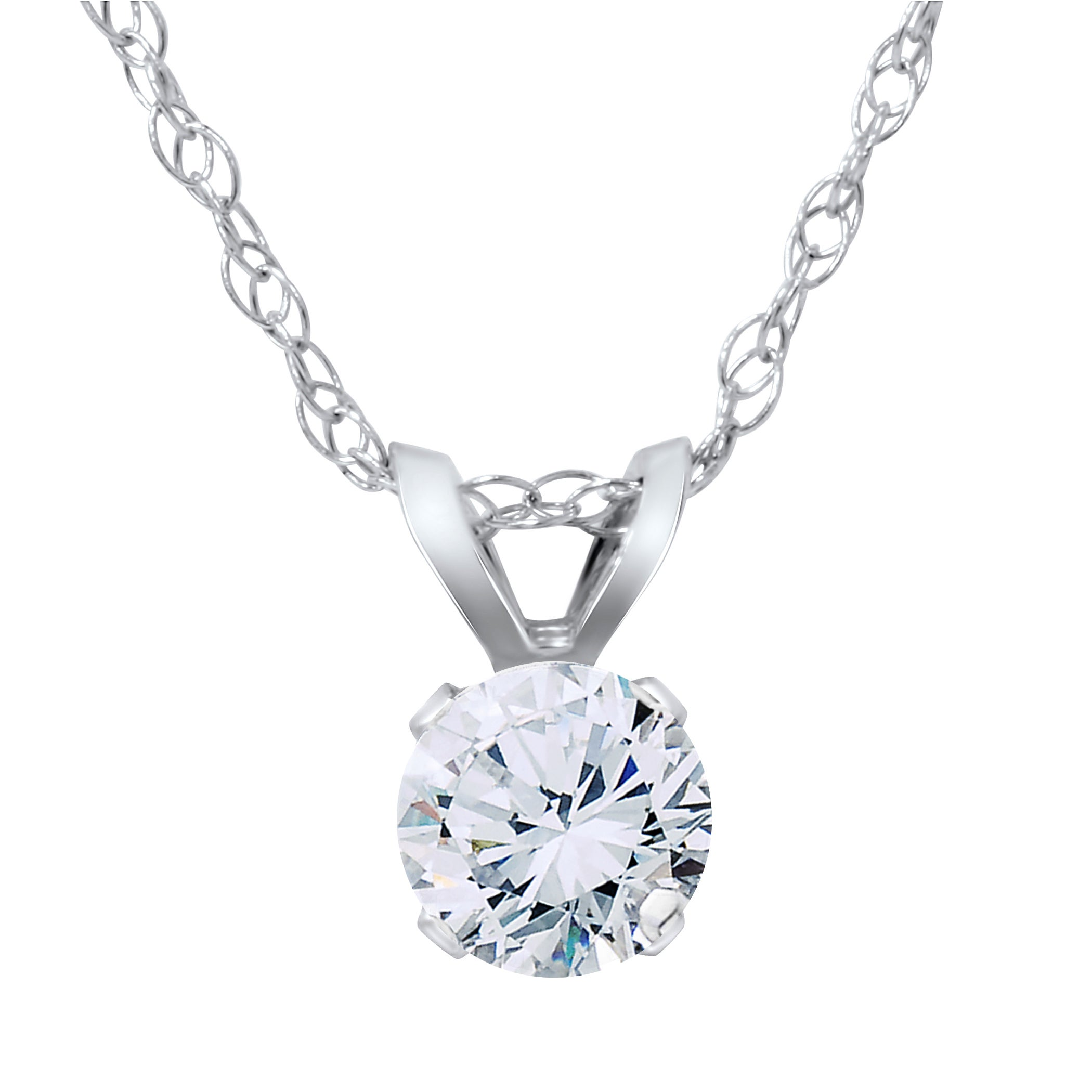 wg diamond catalog cut brilliant necklace
