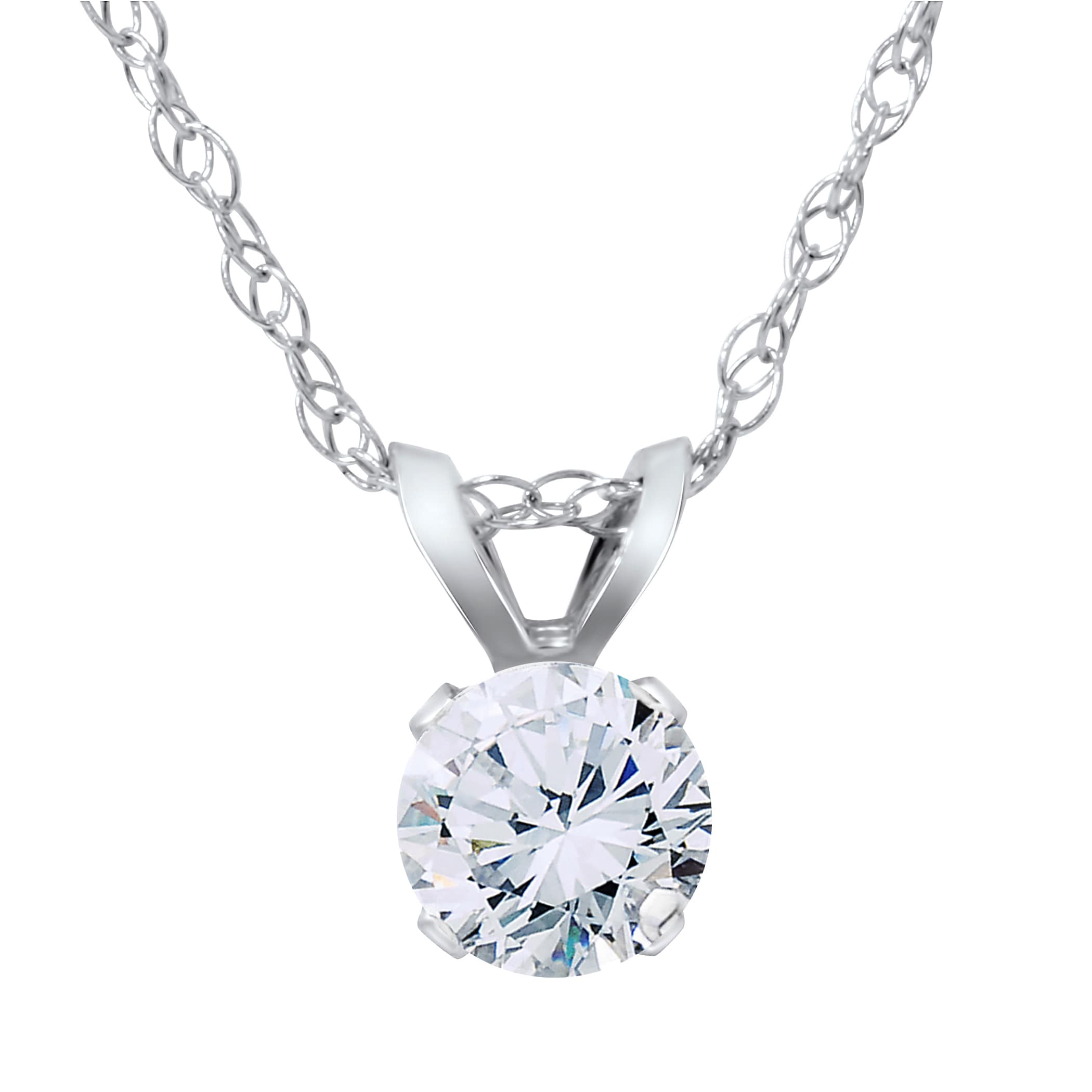 clover ladies pendant round halo in necklace and diamond image white gold flower baguette