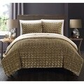 Chic Home Livadia Gold Queen 7-piece Comforter Set