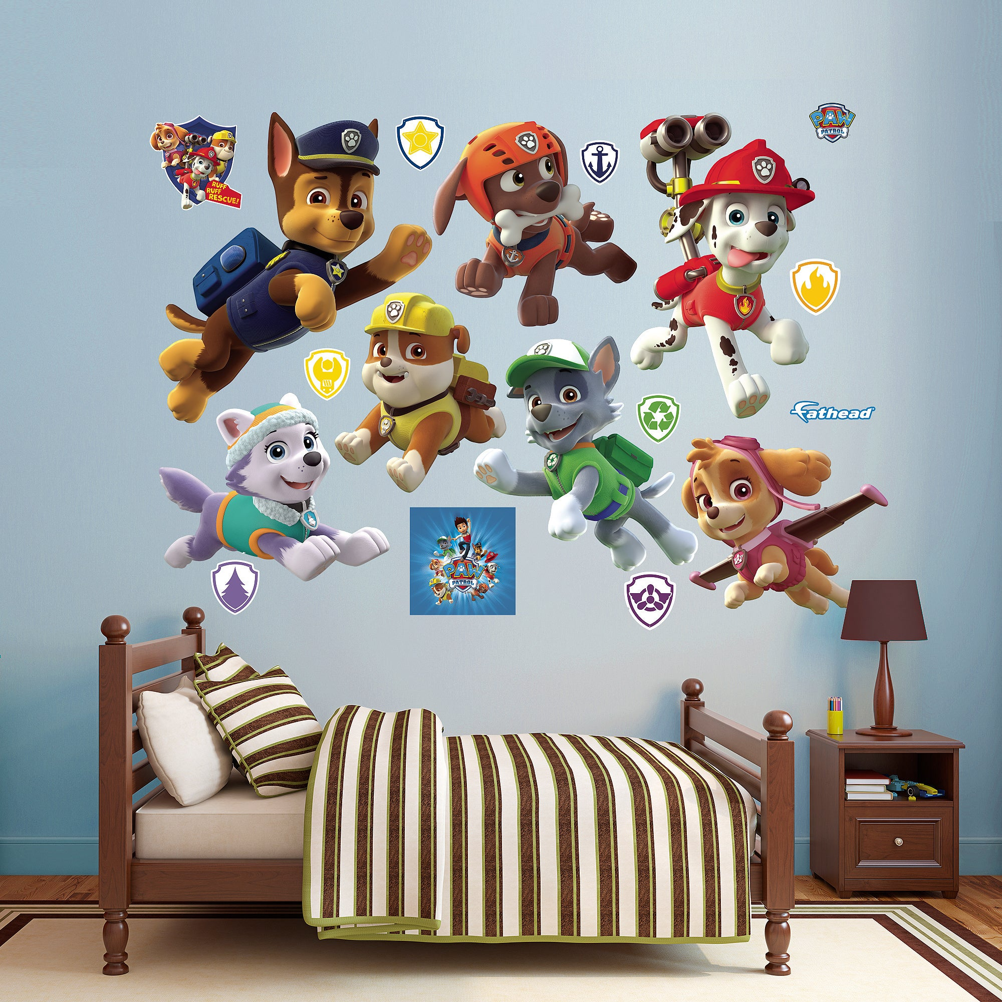 Shop Fathead Paw Patrol Collection Wall Decals - Free Shipping Today ...