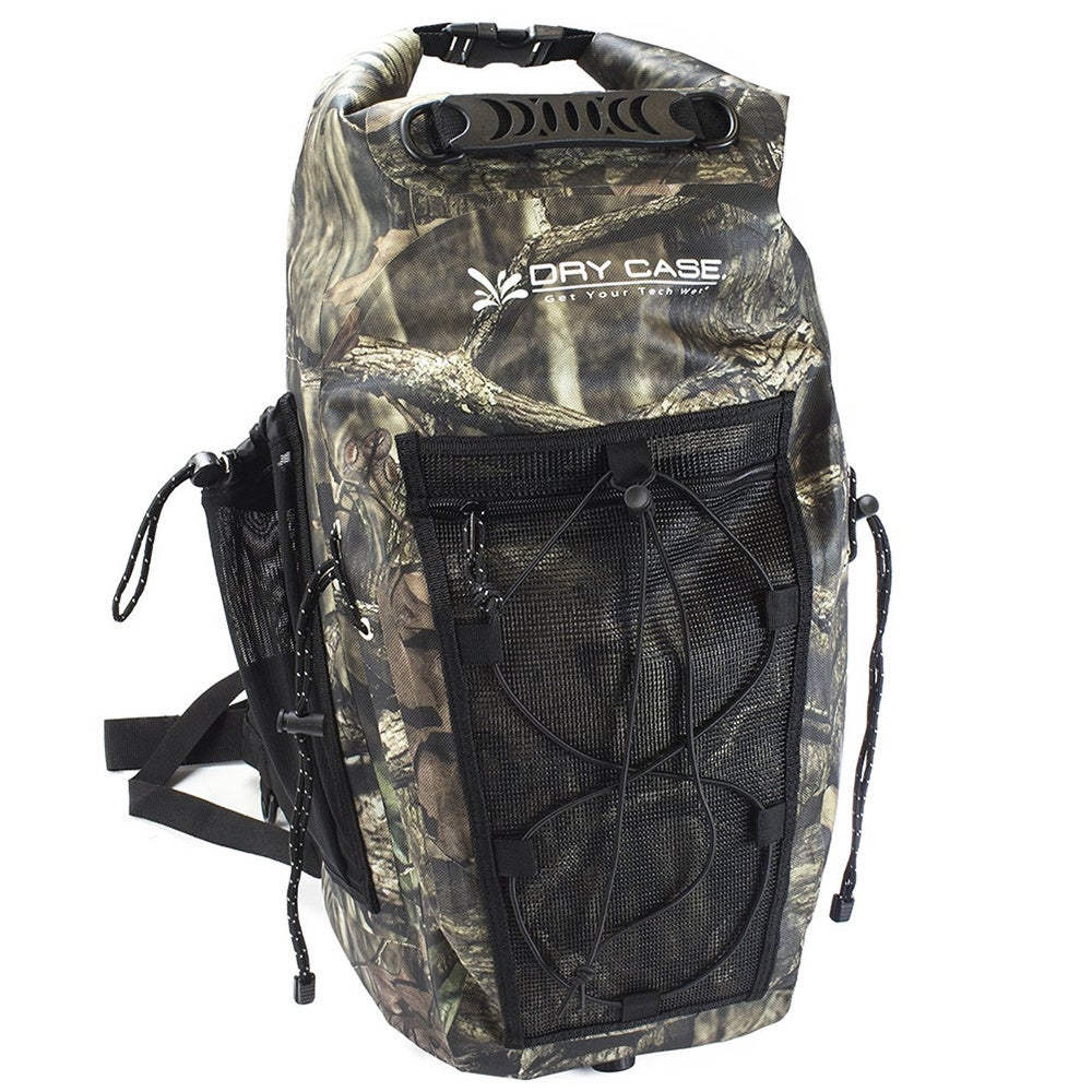 Shop Drycase Brunswick 35-liter Waterproof Camo Backpack - Free Shipping  Today - Overstock.com - 10904043 6fba034e7b
