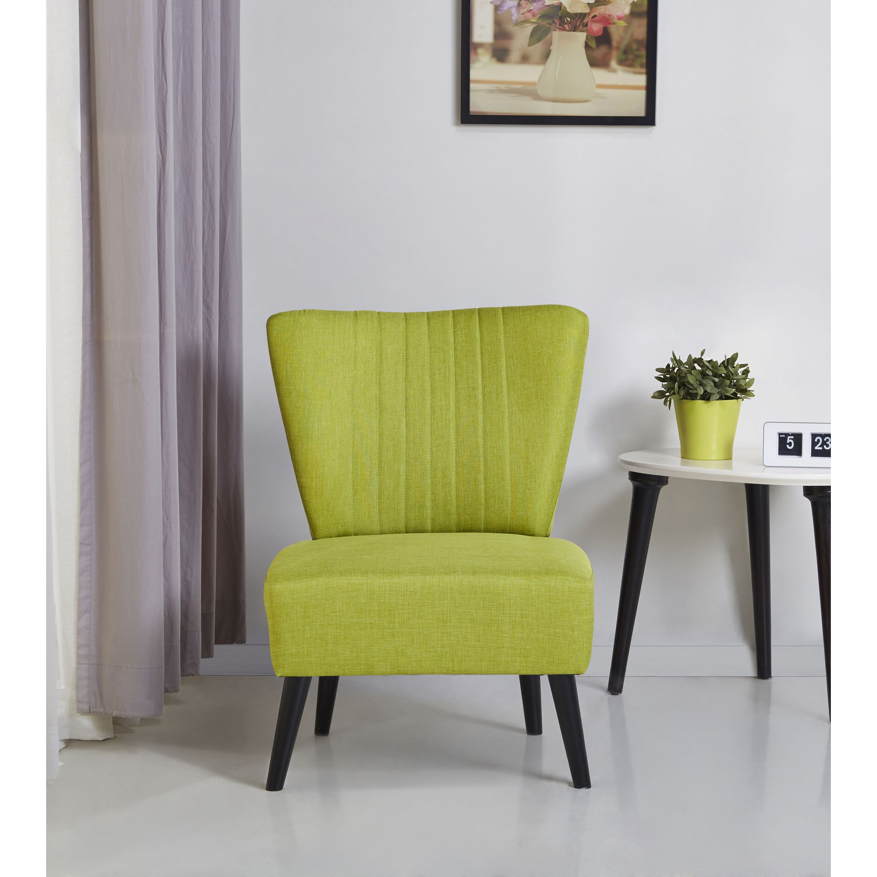 Fontana Lime Accent Chair Free Shipping Today 10905299