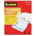 Scotch Thermal Laminating Pouches, Letter Size - 100/PK