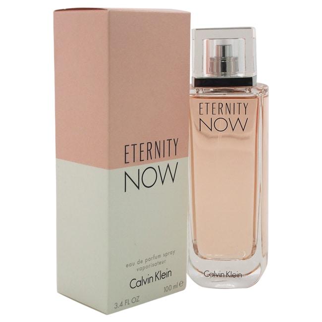 Shop Calvin Klein Eternity Now Womens 34 Ounce Eau De Parfum Spray