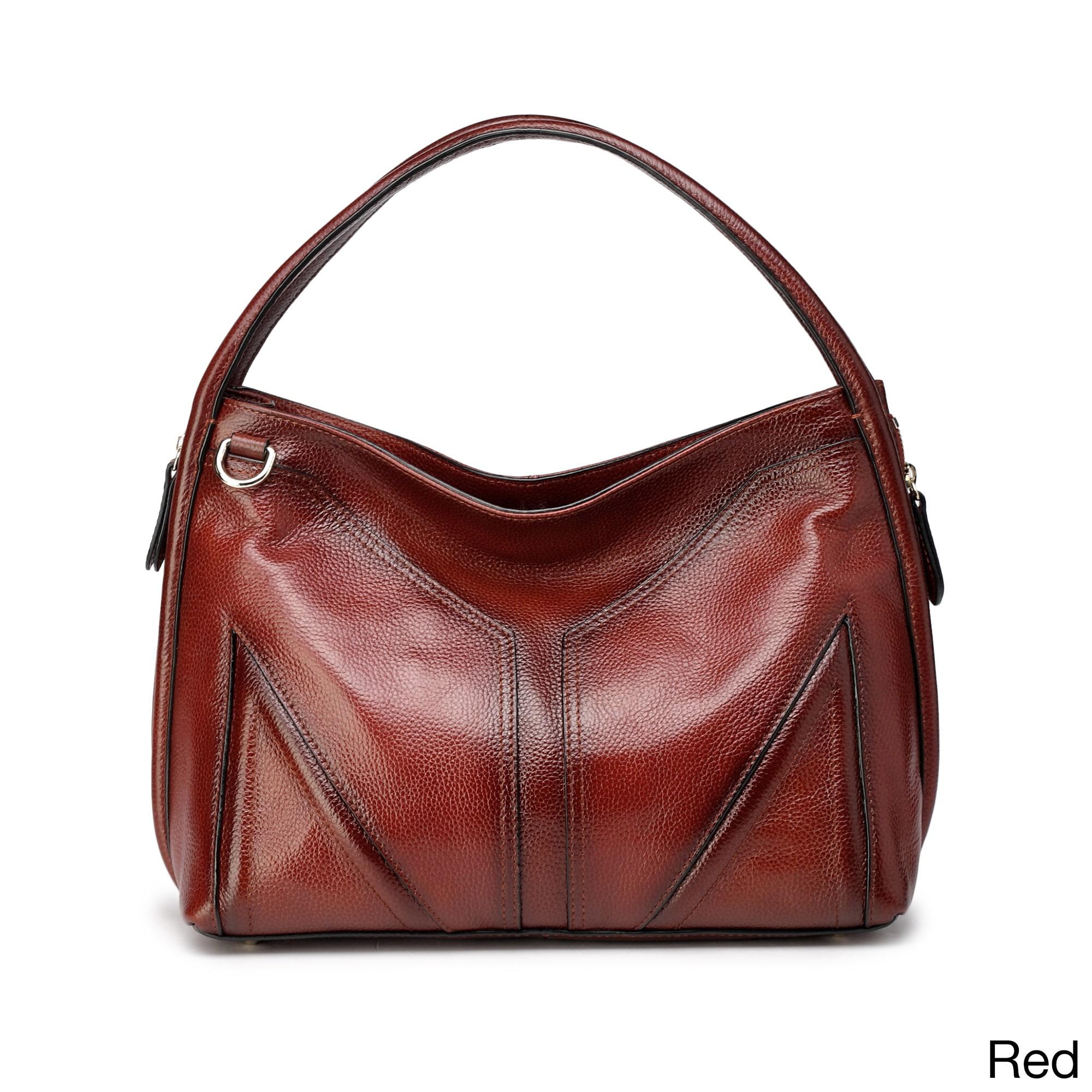 Vicenzo Leather Elle Hobo Handbag On Free Shipping Today 10909031