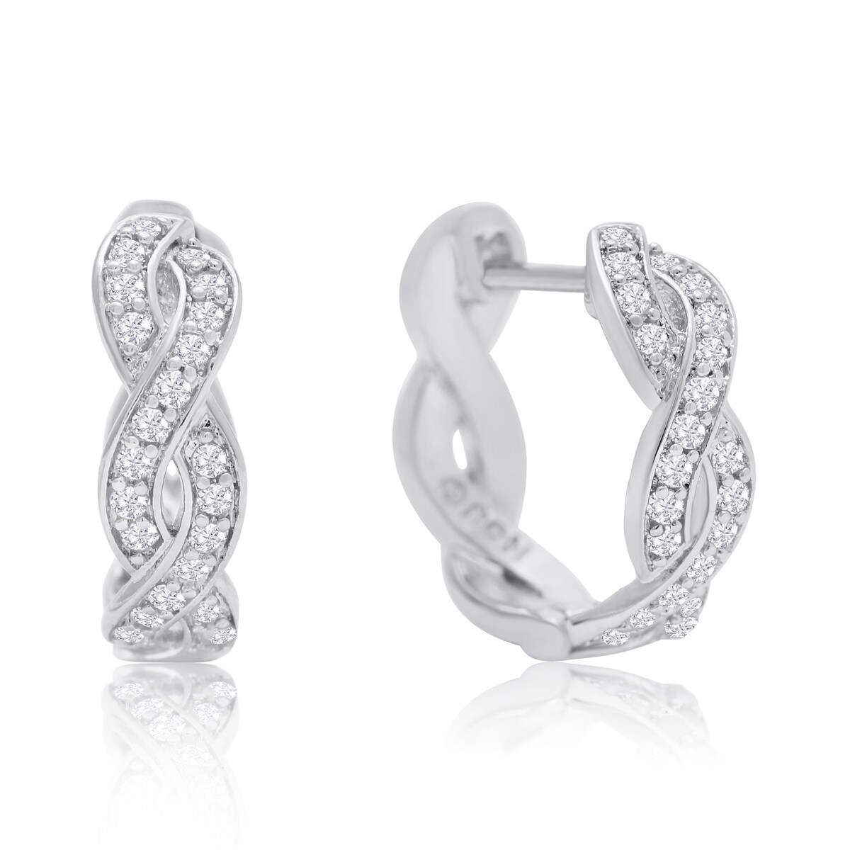 silver bling small caymancode snap back jewelry for sterling hoop earrings men