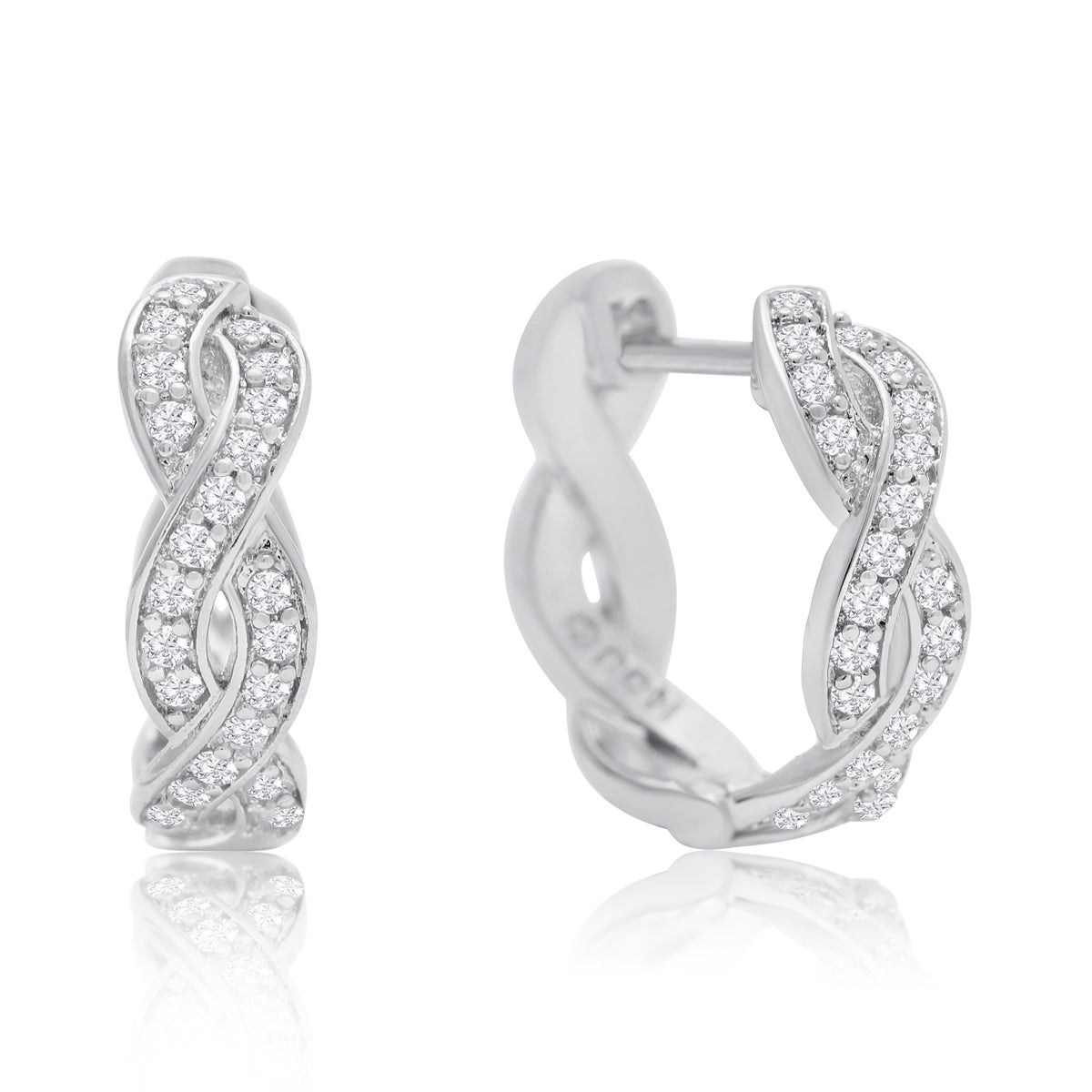 in jewelry snap overstock sterling today shipping product watches hidden earrings silver free back hoop backs diamond