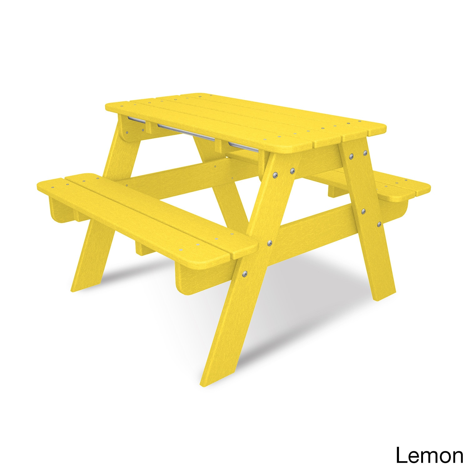 Shop Polywood Kids Picnic Table Free Shipping Today Overstock - 96 picnic table