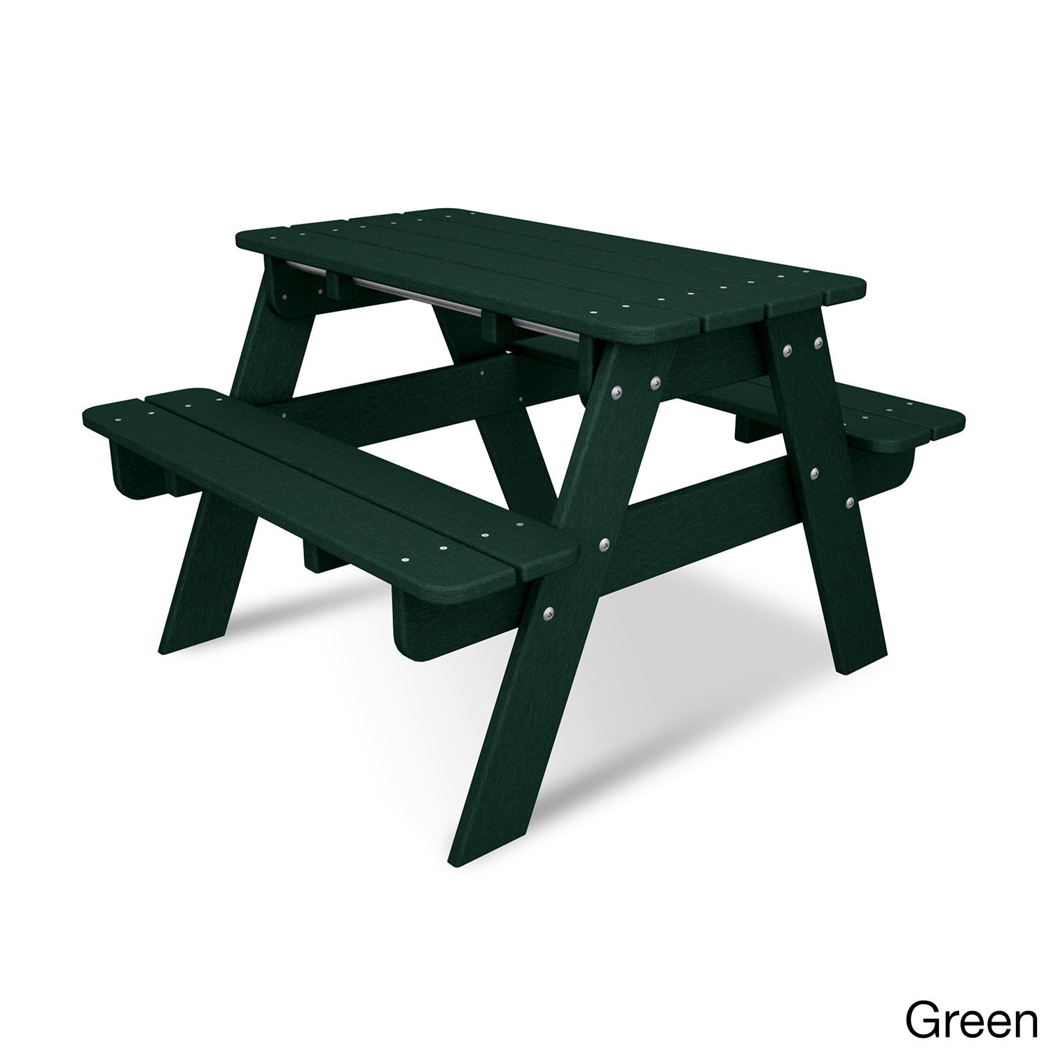 Charmant Shop Polywood Kids Picnic Table   Free Shipping Today   Overstock.com    10909699