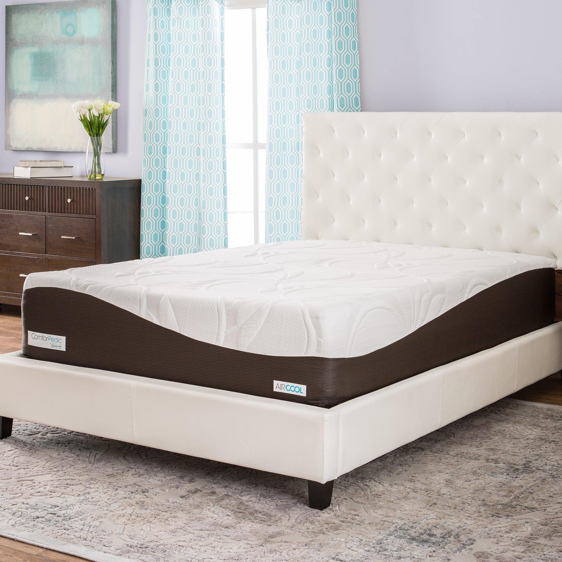 Shop Comforpedic From Beautyrest 14 Inch Memory Foam Mattress On