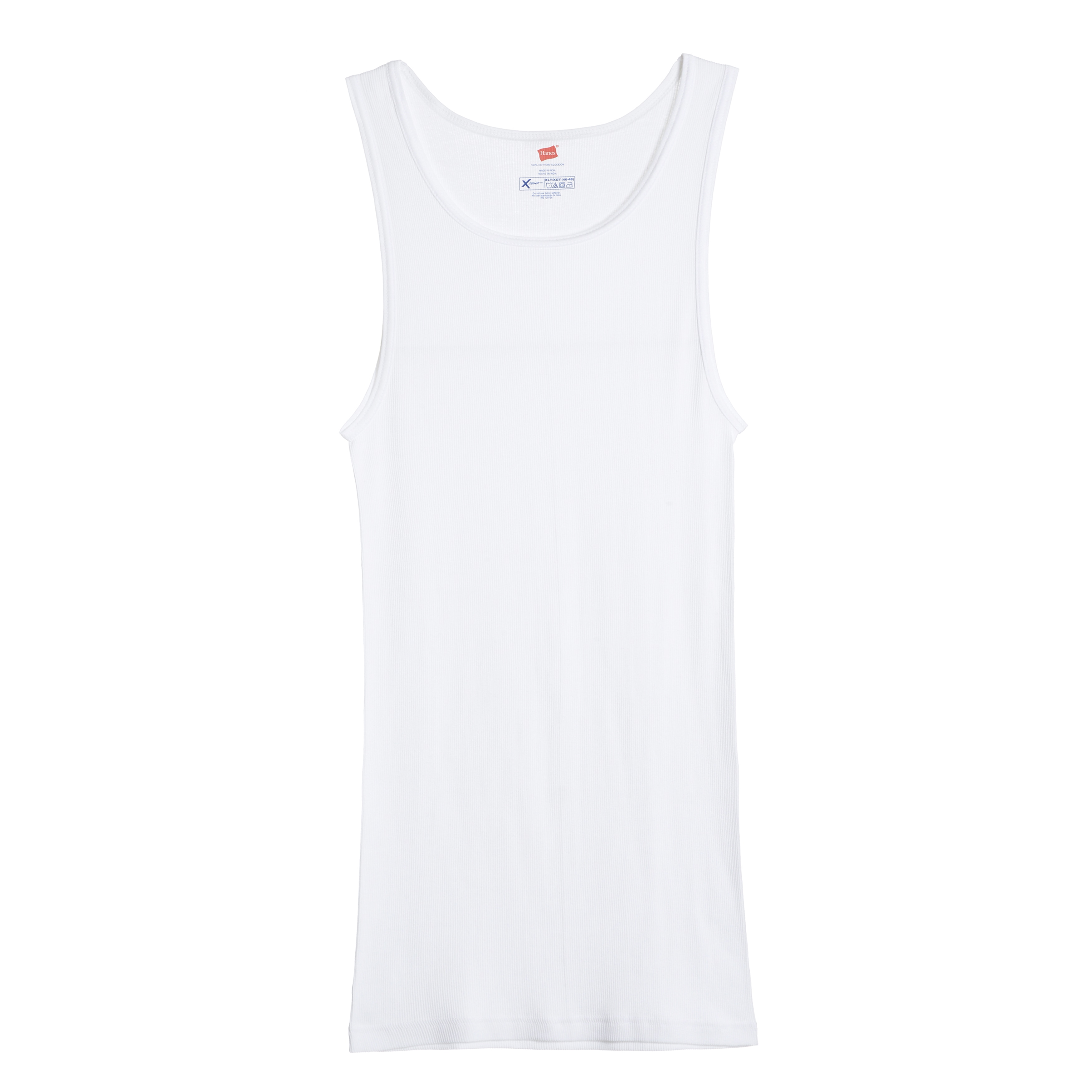 a0d6313bf Shop Hanes X-Temp Men's Big & Tall White Tank Undershirts (Pack of 3) -  Free Shipping Today - Overstock - 10913951