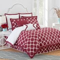 Jill Rosenwald Hampton Links Garnet 4-piece Comforter Set