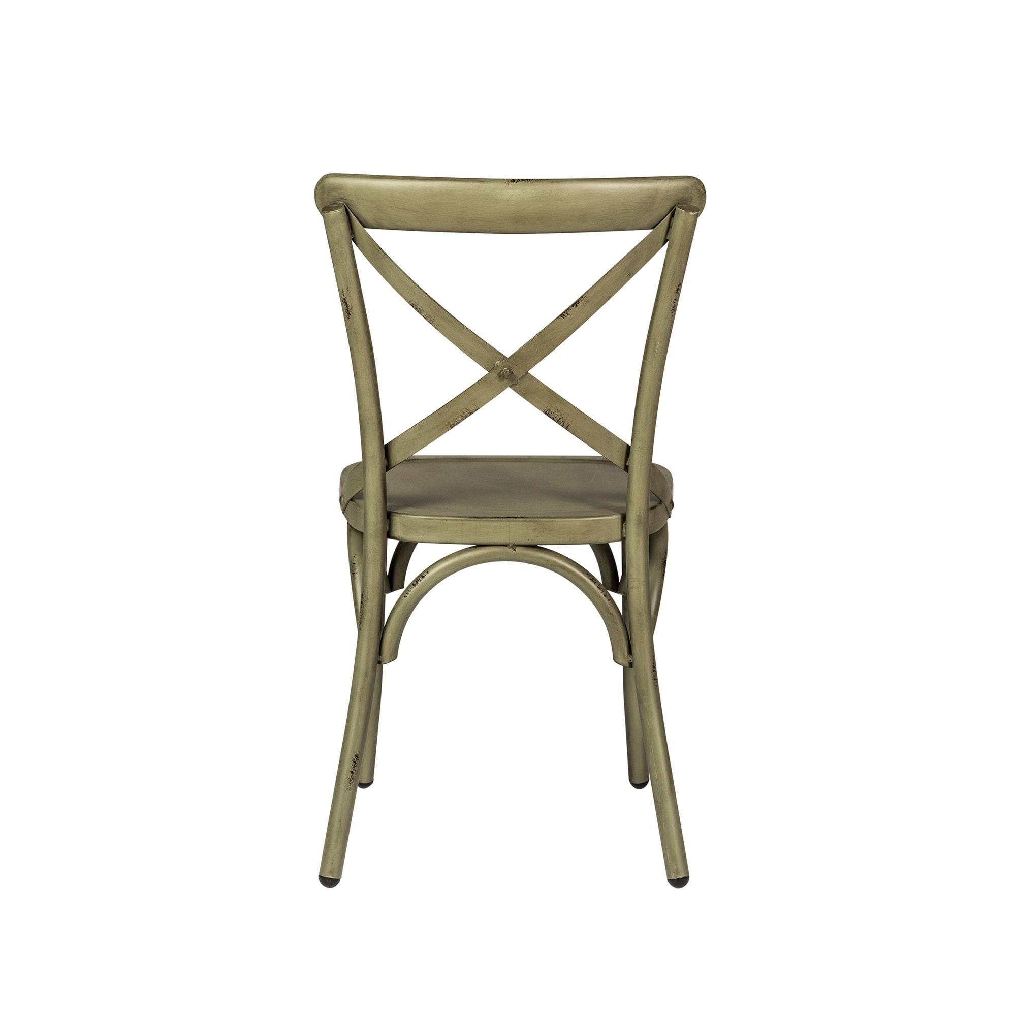 distressed metal furniture. The Gray Barn Santa Rosa Distressed Metal X-Back Side Chair - Free Shipping Today Overstock 17968223 Furniture