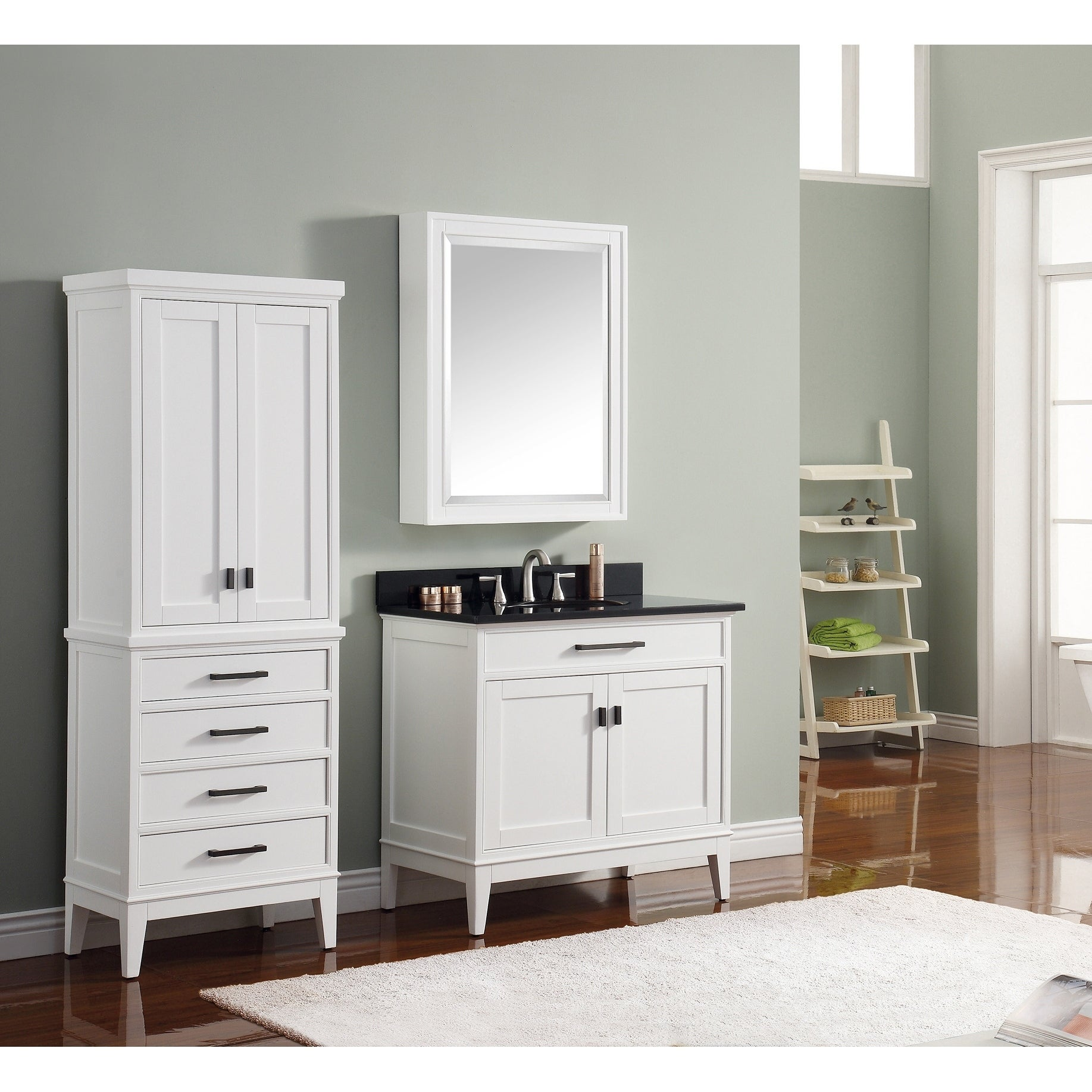 Avanity Madison 24 Inch Mirror Cabinet In White W X 32 H Free Shipping Today 10951022