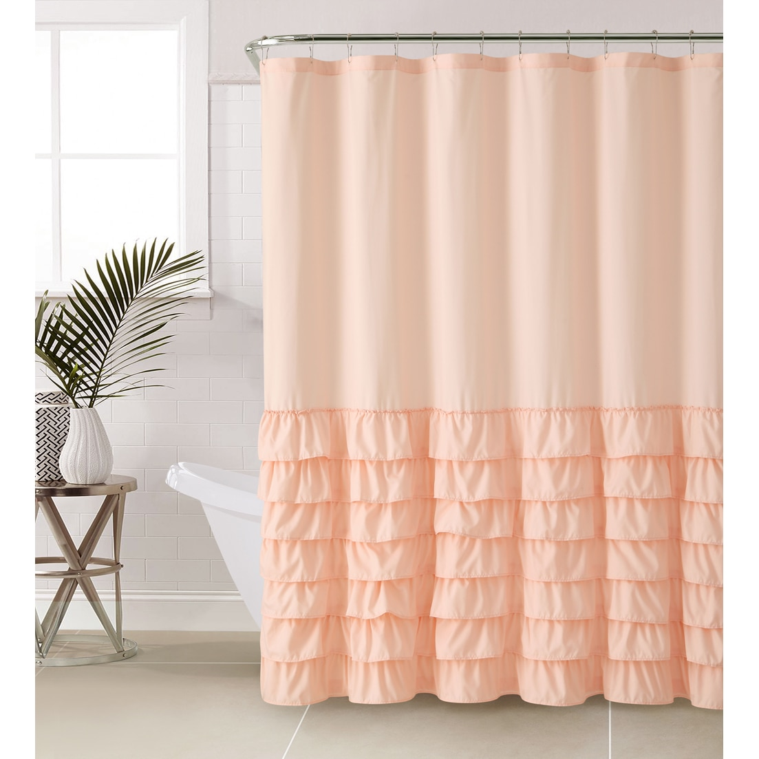 Shop VCNY Melanie Ruffle Shower Curtain