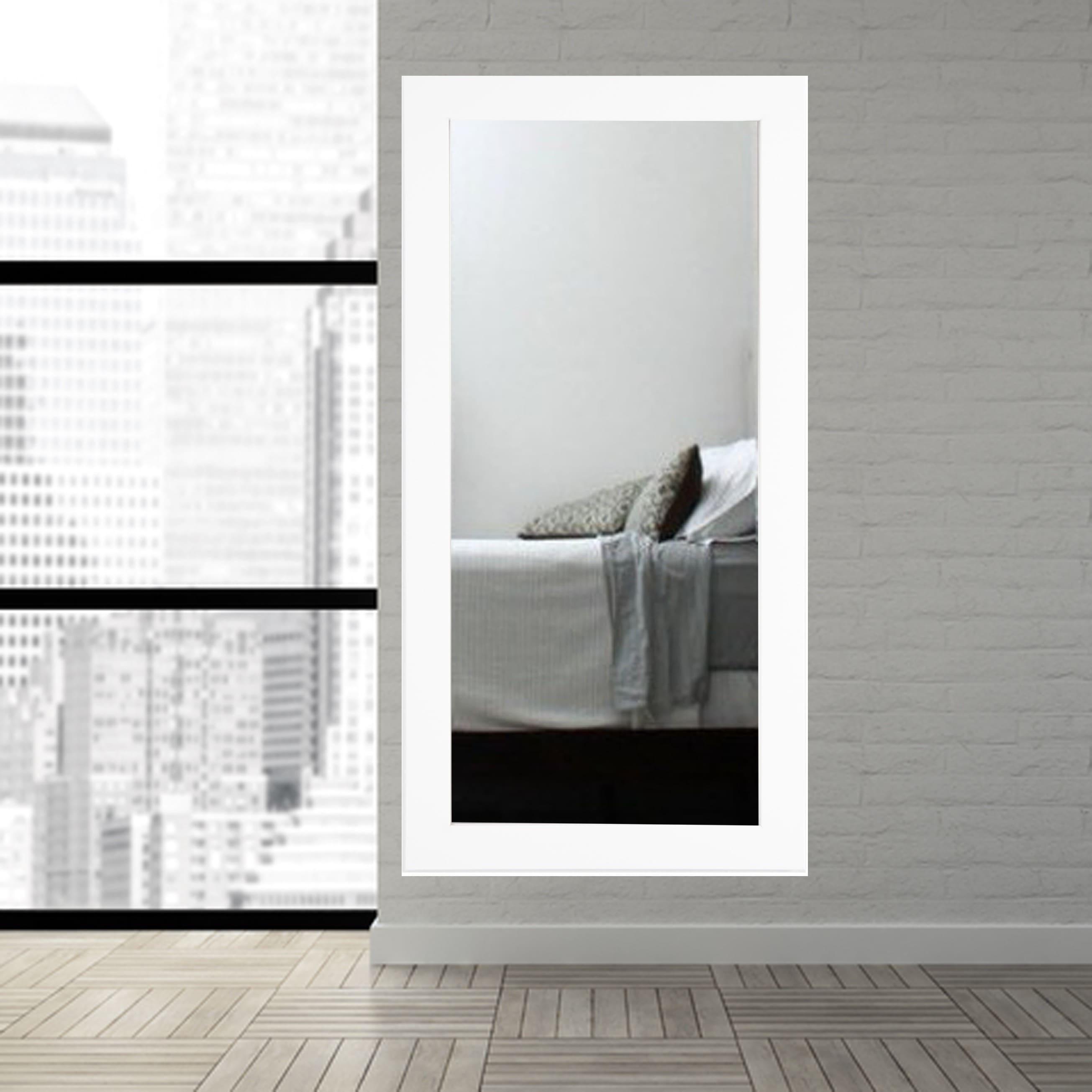 White Floor Mirror White Floor Mirror - Systym.co