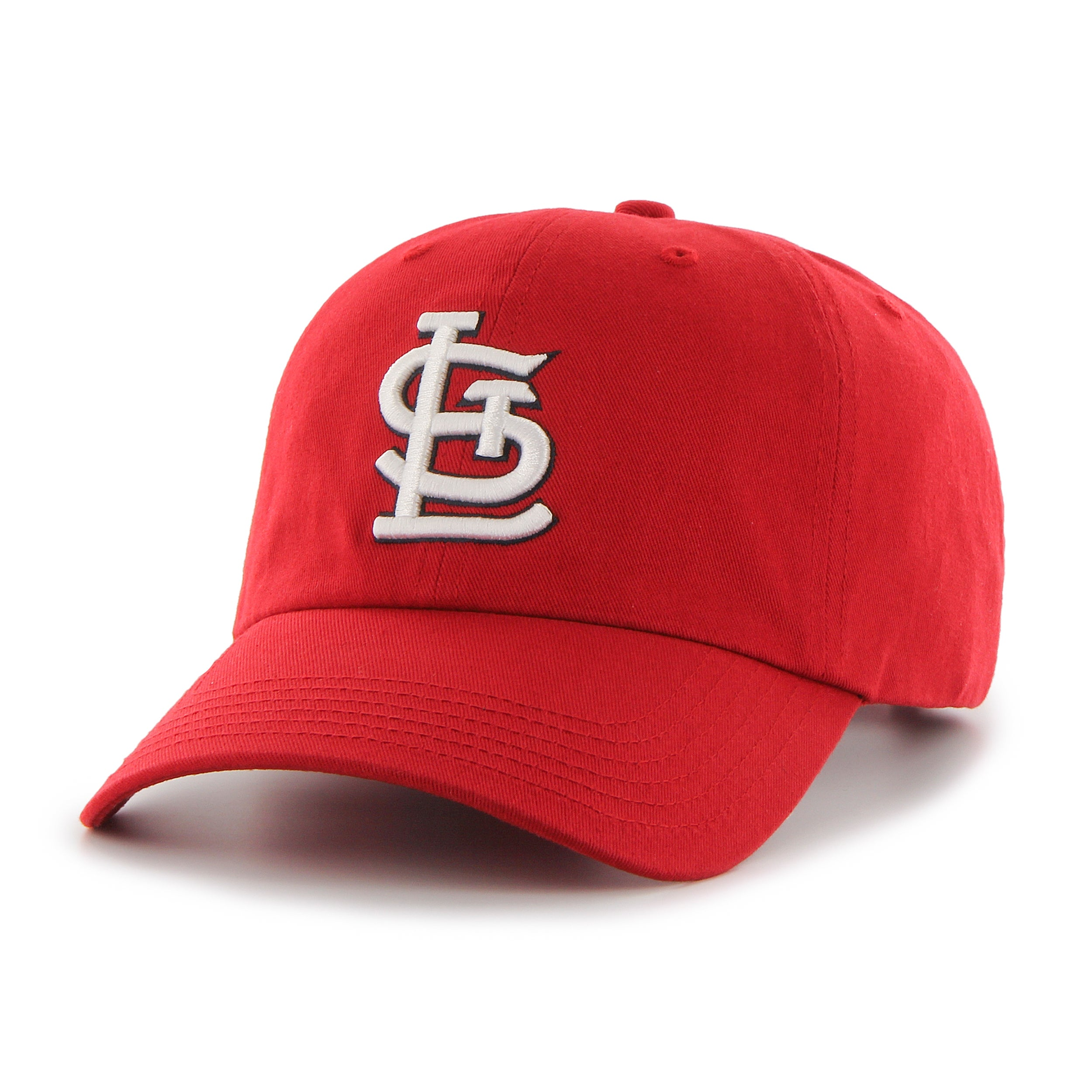 finest selection cf2e9 50da1 Shop 47 Brand St. Louis Cardinals MLB Clean Up Hat - Free Shipping On  Orders Over  45 - Overstock - 10957803
