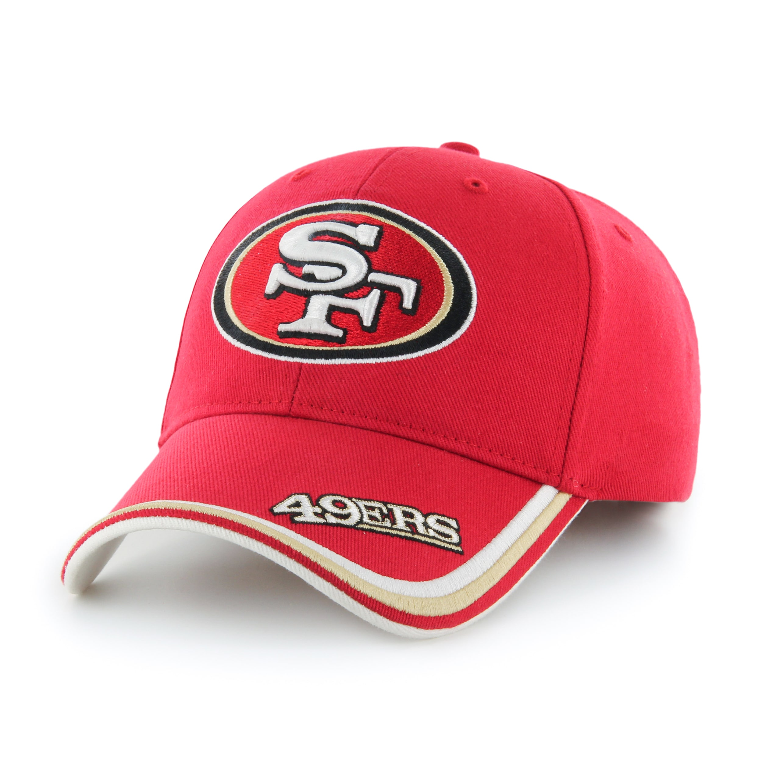 47 Brand San Francisco 49ers NFL Forest Hook and Loop Hat Free