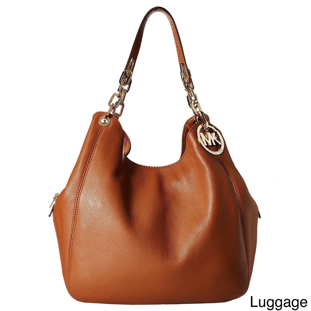 d59fdfc1e684 Shop Michael Kors Fulton Leather Large Shoulder Tote Bag - Free Shipping  Today - Overstock - 10971917