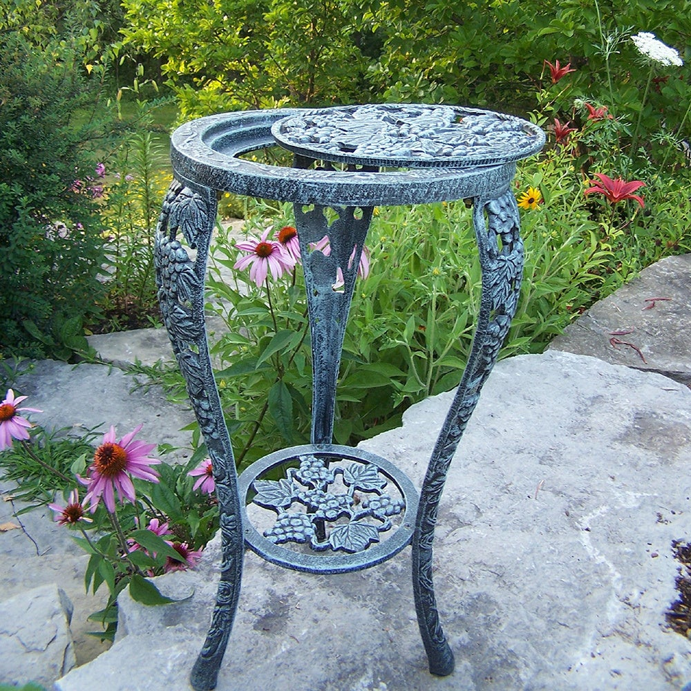Shop Napa Valley Indoor/ Outdoor Plant Stand - Free Shipping Today ...