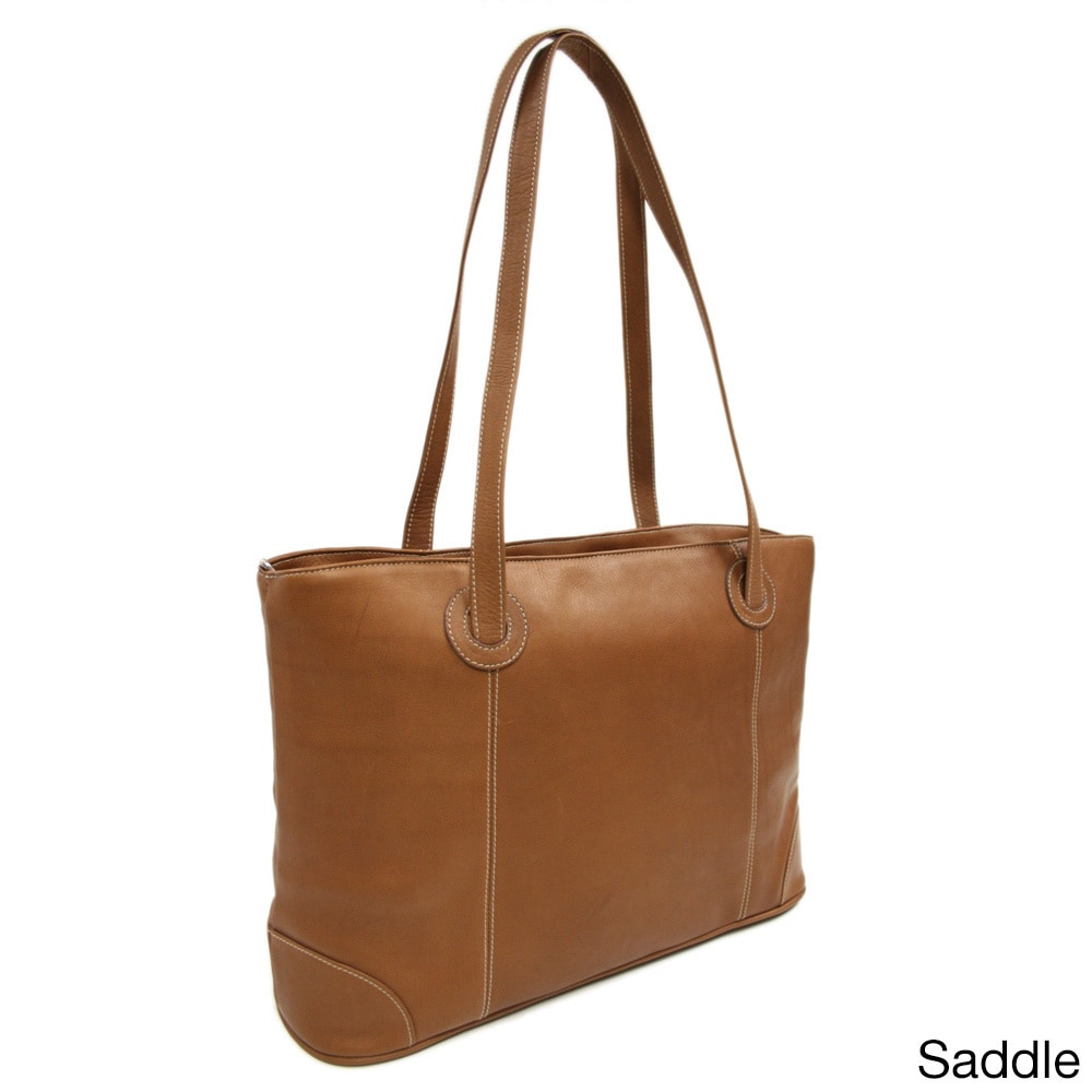Piel Leather Women S Laptop Computer Tote Bag Free Shipping Today 10972554