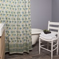 Handmade Double Vine Shower Curtain (India)