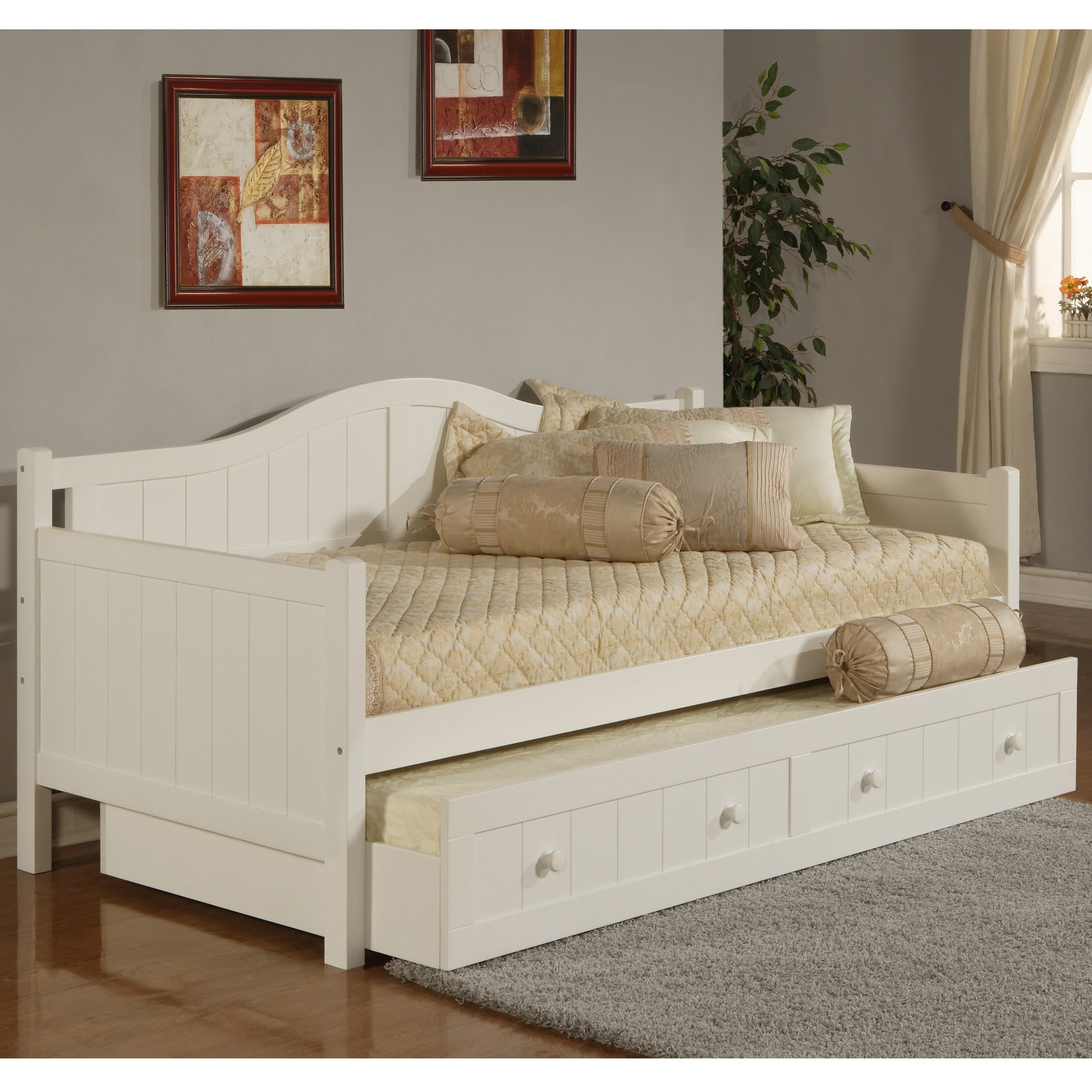 Shop Hillsdale Furniture Staci White Daybed Free Shipping Today