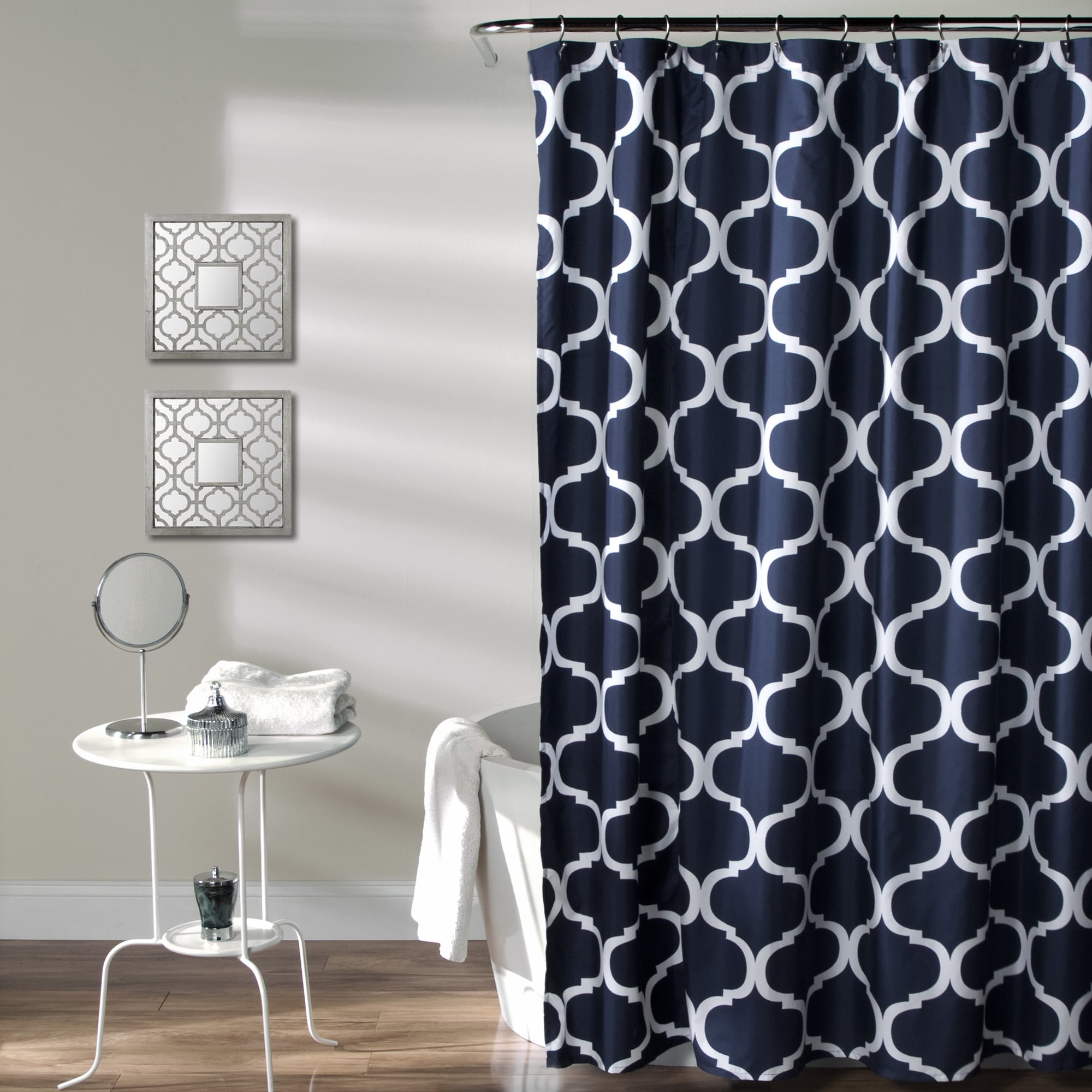 Gracewood Hollow Chidzero Geometric Shower Curtain