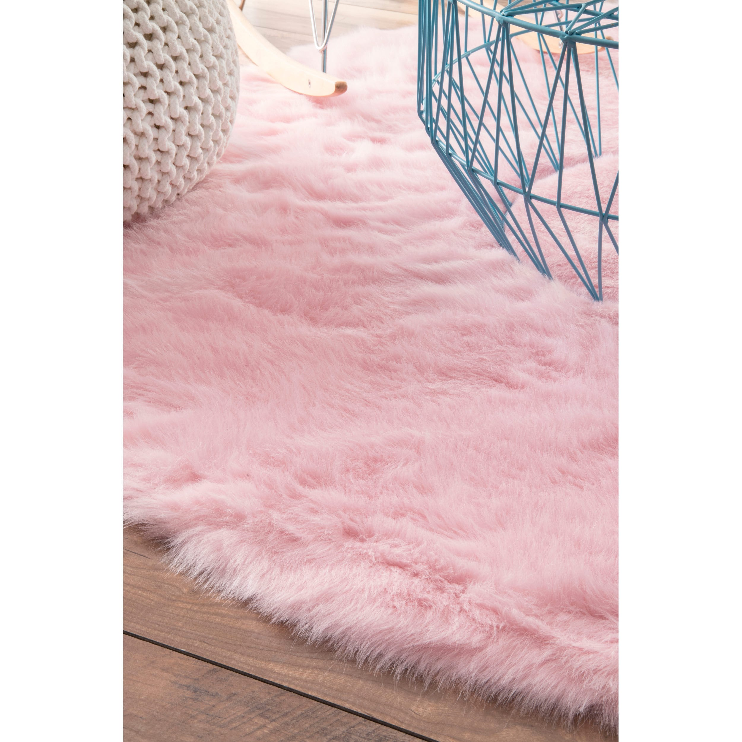 garden home product nuloom free shipping today overstock handmade modern rugs rug for nursery pink x round clouds kids
