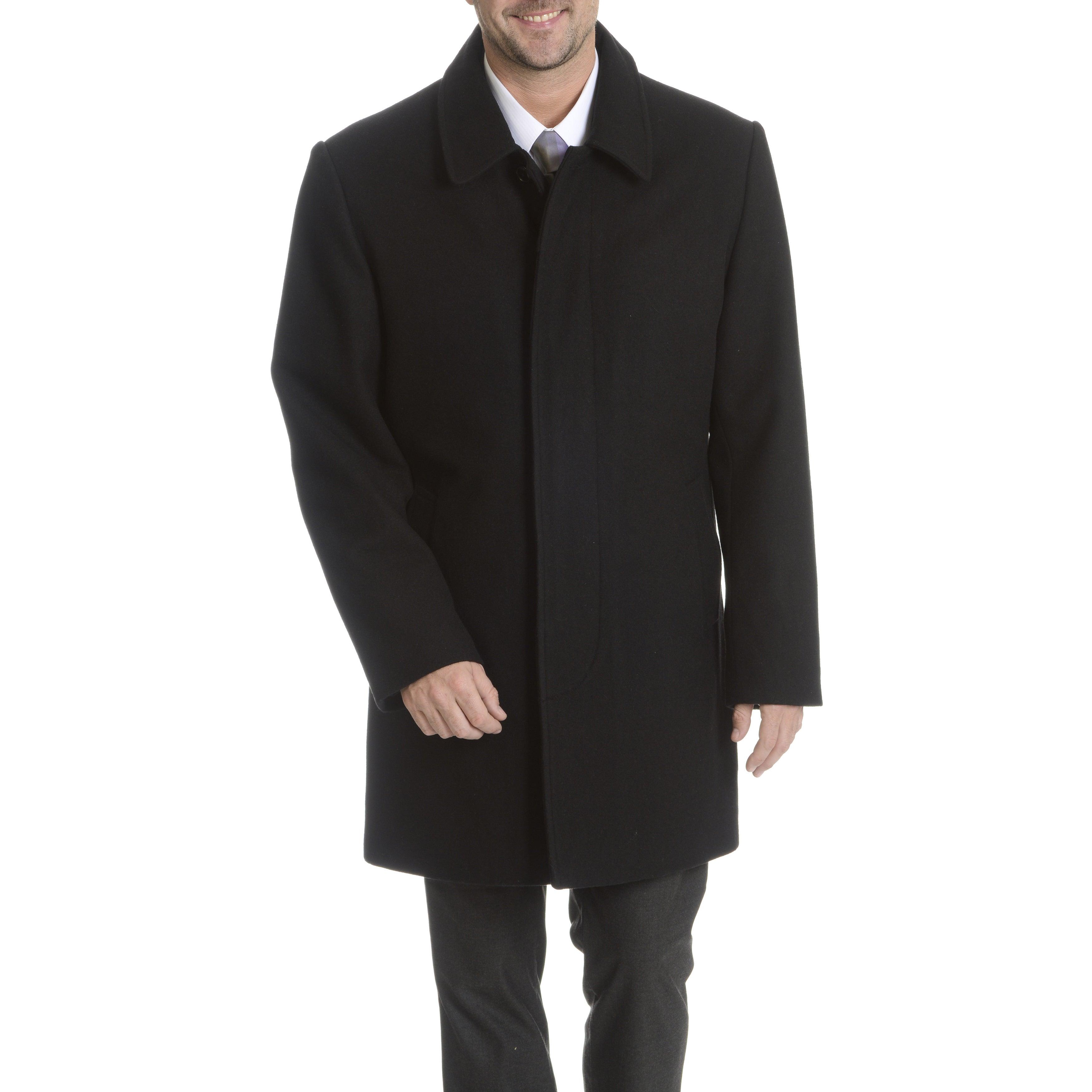 113c9221661 Shop Steve Harvey Men's Topcoat - Free Shipping Today - Overstock - 10991538