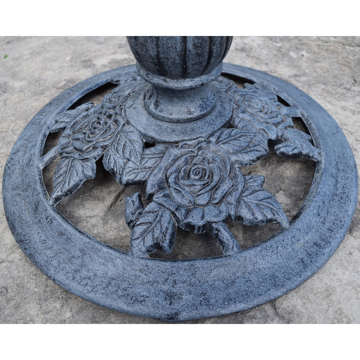 Premium Lotus Twin Birds Bird Bath - Free Shipping Today - Overstock ...