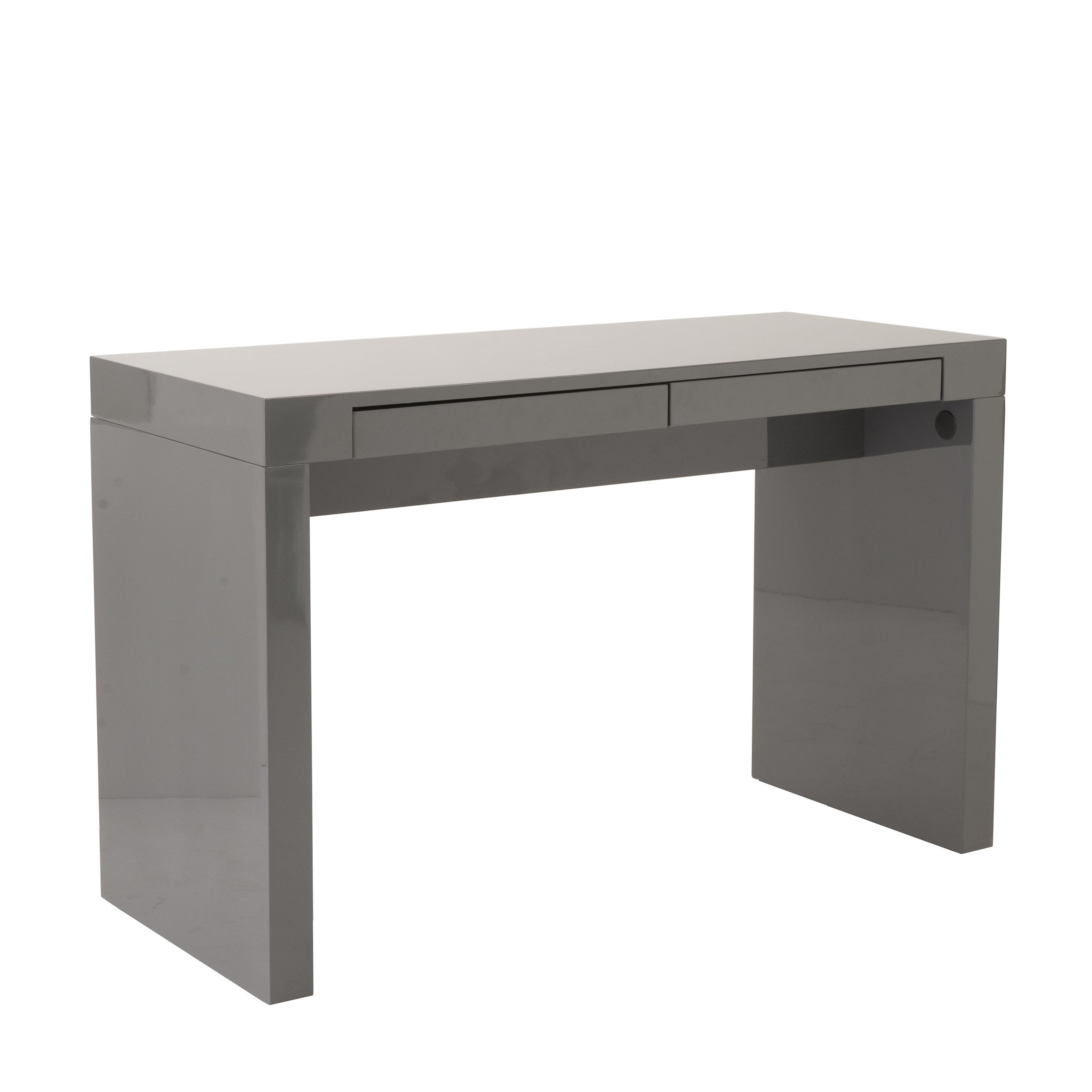 desk hooker pin accents with gold furniture gray writing